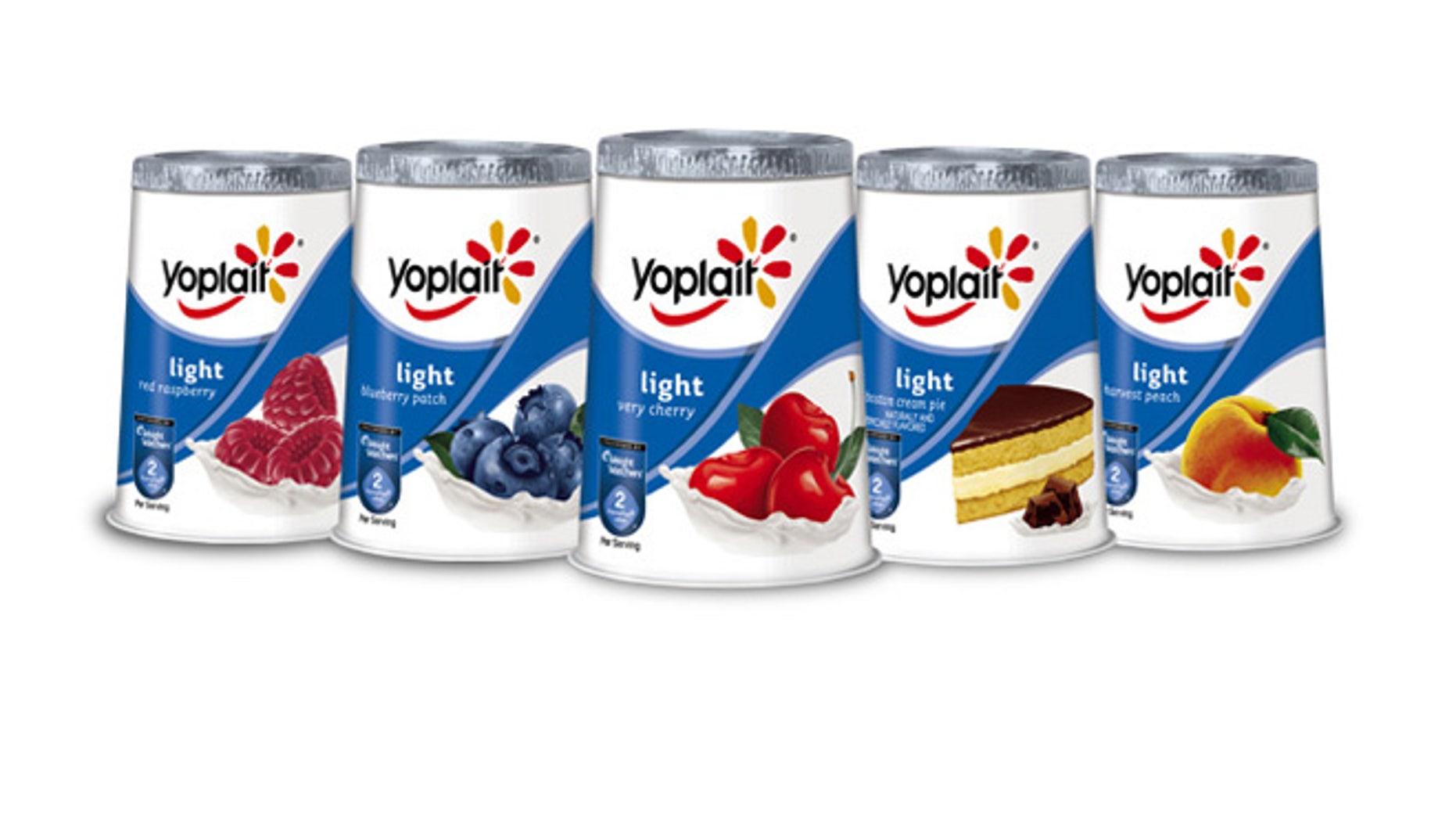 Yoplait Light changing artificial sweeteners