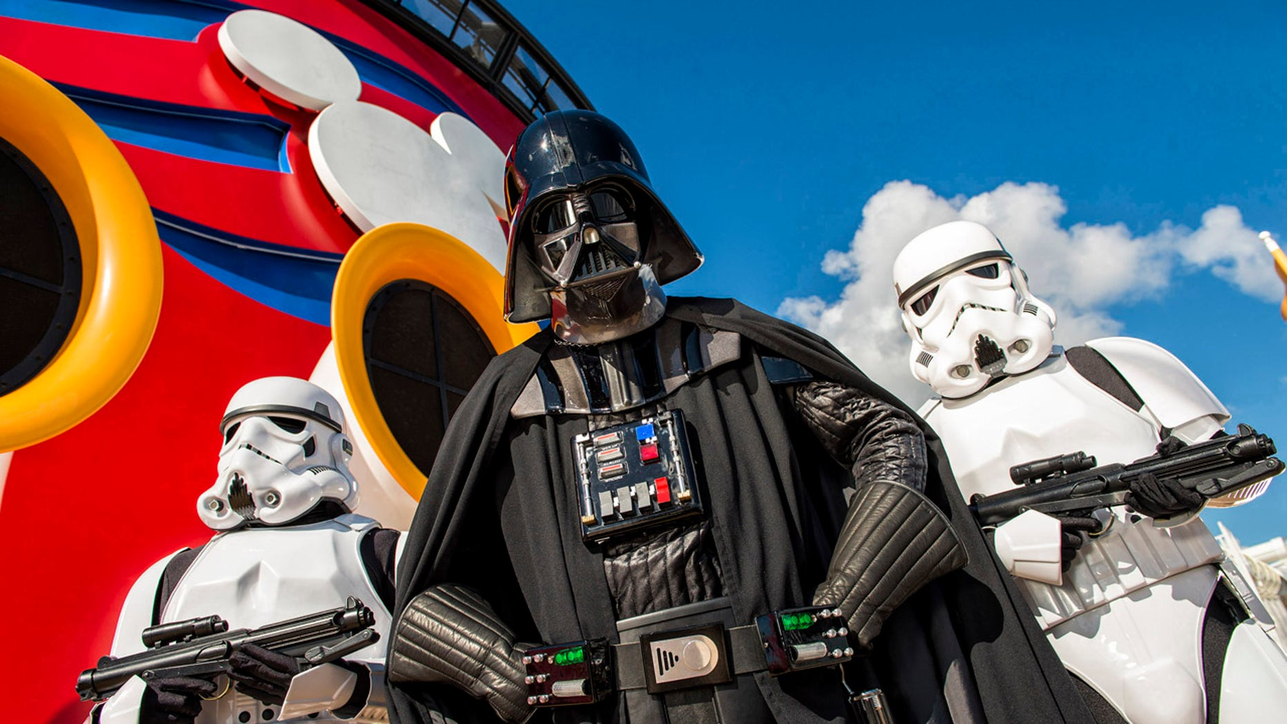 """""""Star Wars"""" on the high seas. Set sail with Darth Vader, Storm Troopers and more with Disney Cruise Line."""