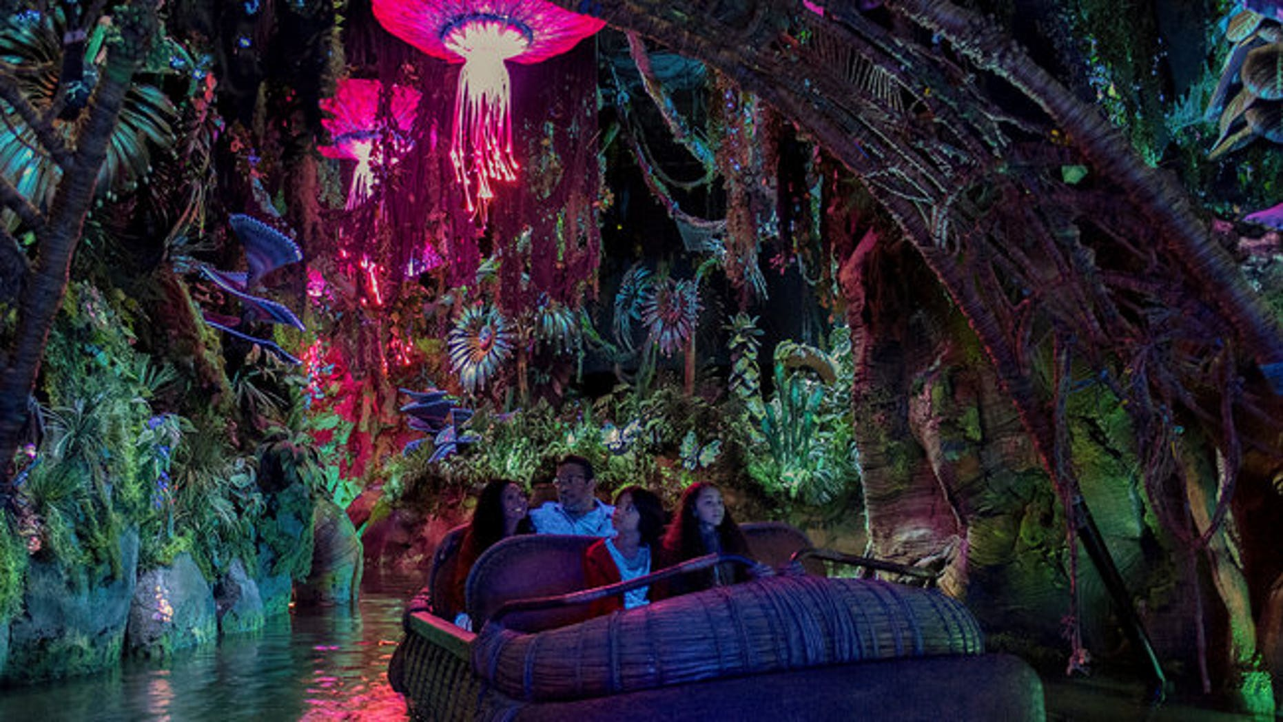 The Na'vi River Journey is coming to Disney's Animal Kingdom in Orlando, Fla.