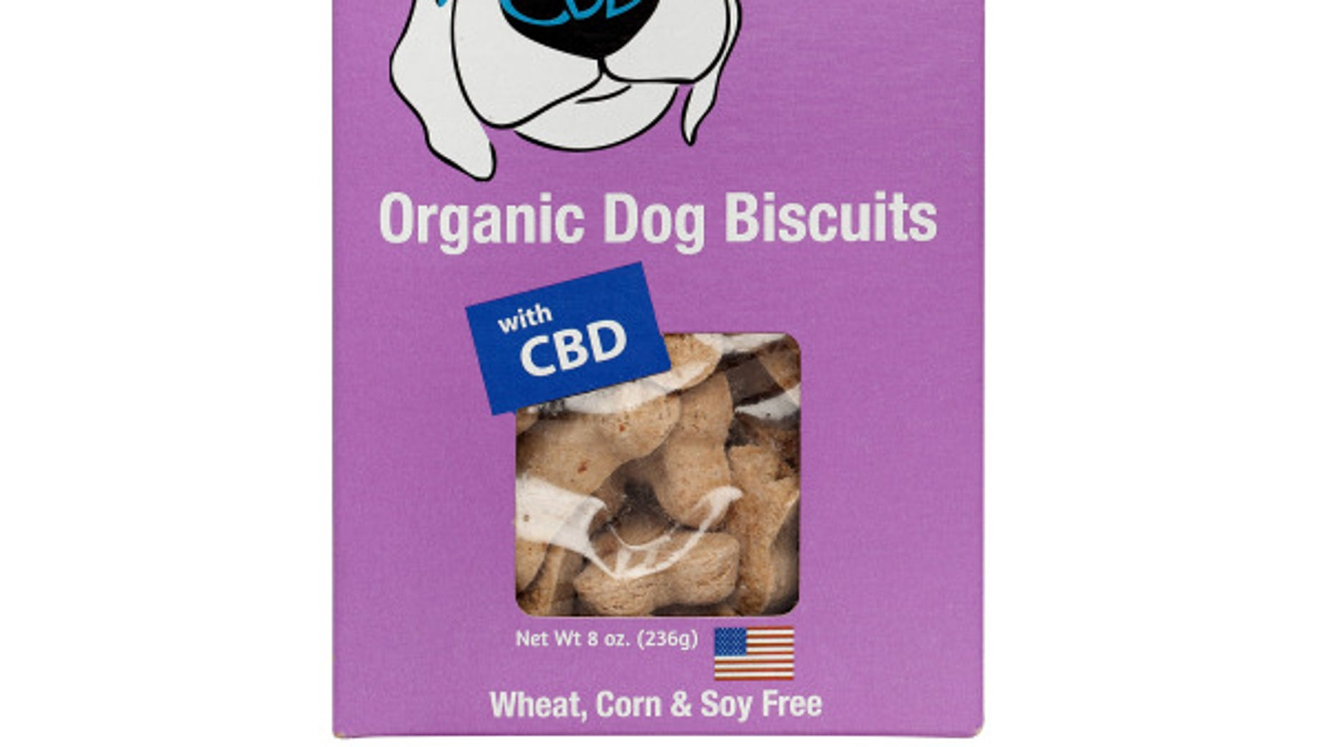 Canna-Biscuits for dogs come in many flavors like Turkey & Cranberry and Pumpkin Pie.