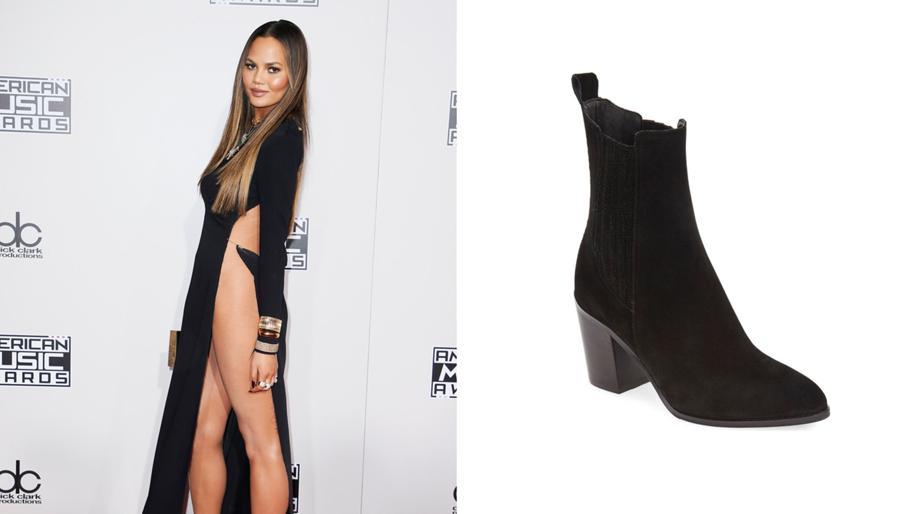 Model Chrissy Teigen says she likes to cool even when she flies.