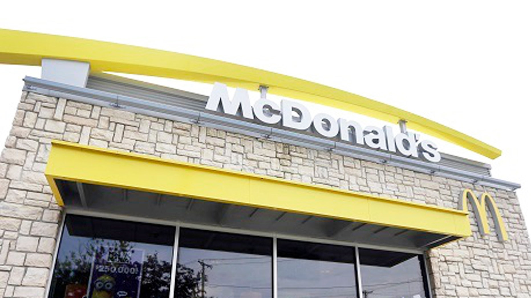 A nativity mural in the window of a Tennessee McDonald's has gone viral.