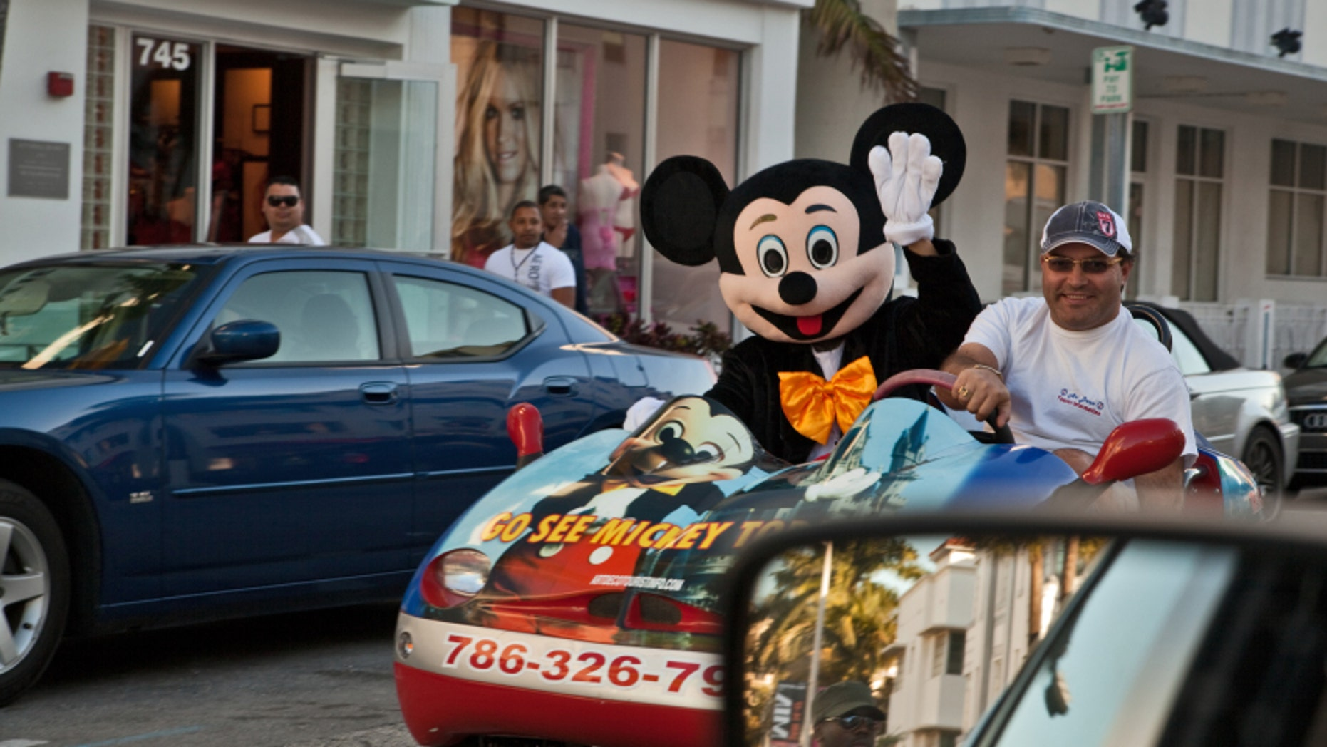 Disney World or Disneyland? You be the judge.