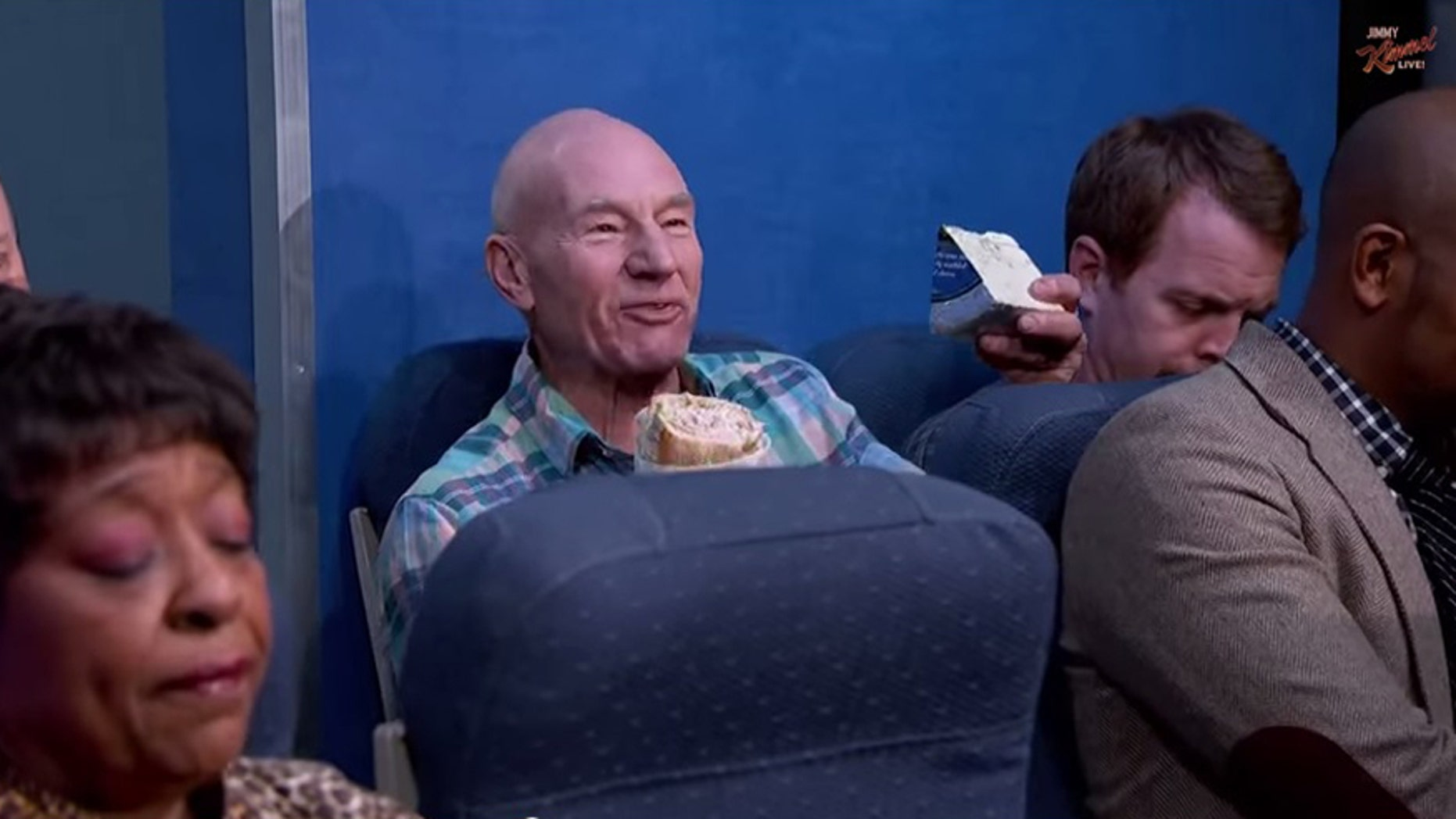 No one wants to sit next to someone eating a smelly sandwich.