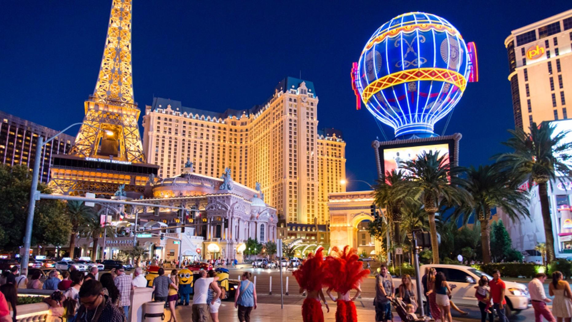 The city of Las Vegas
