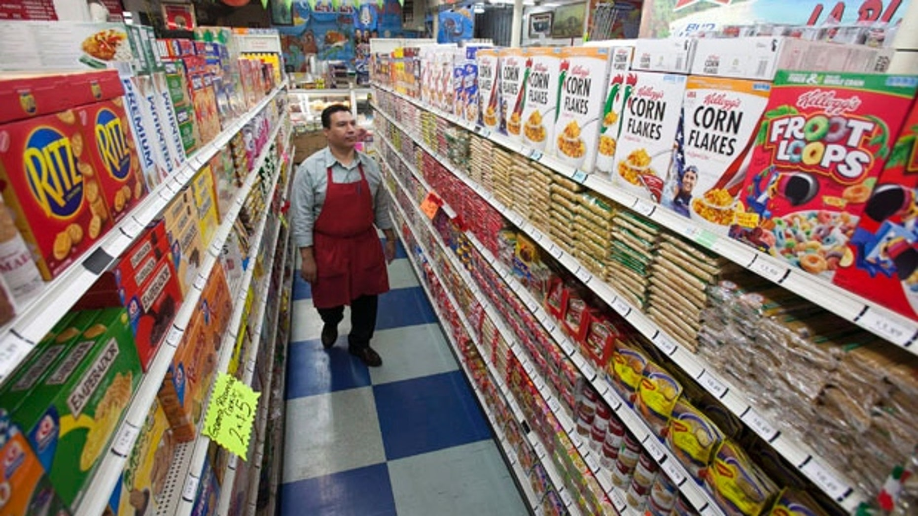 Americans are buying more processed foods than fresh.