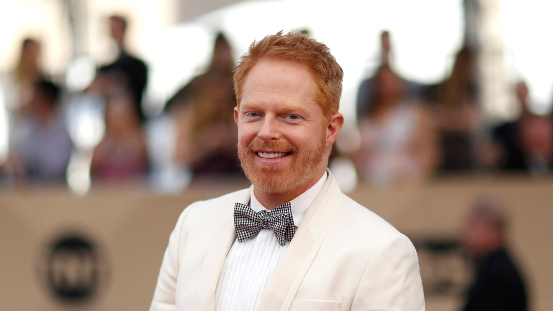 Actor Jesse Tyler Ferguson arrives at the 23rd Screen Actors Guild Awards in Los Angeles, California, U.S., January 29, 2017.