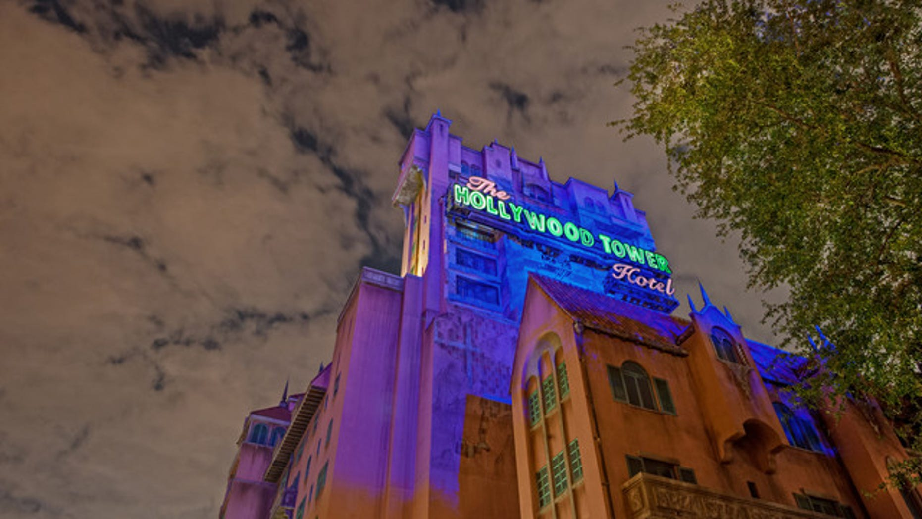 Enjoy a spooky sipper inside the Hollywood Tower Hotel's new bar.