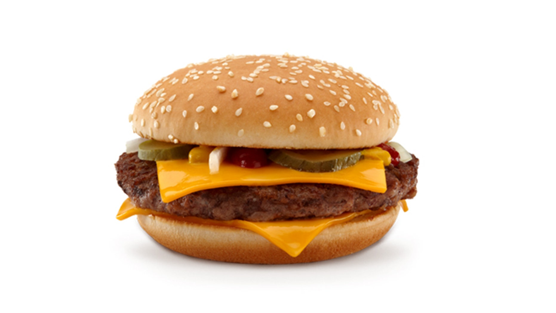 A beefier quarter pounder burger is on the way.
