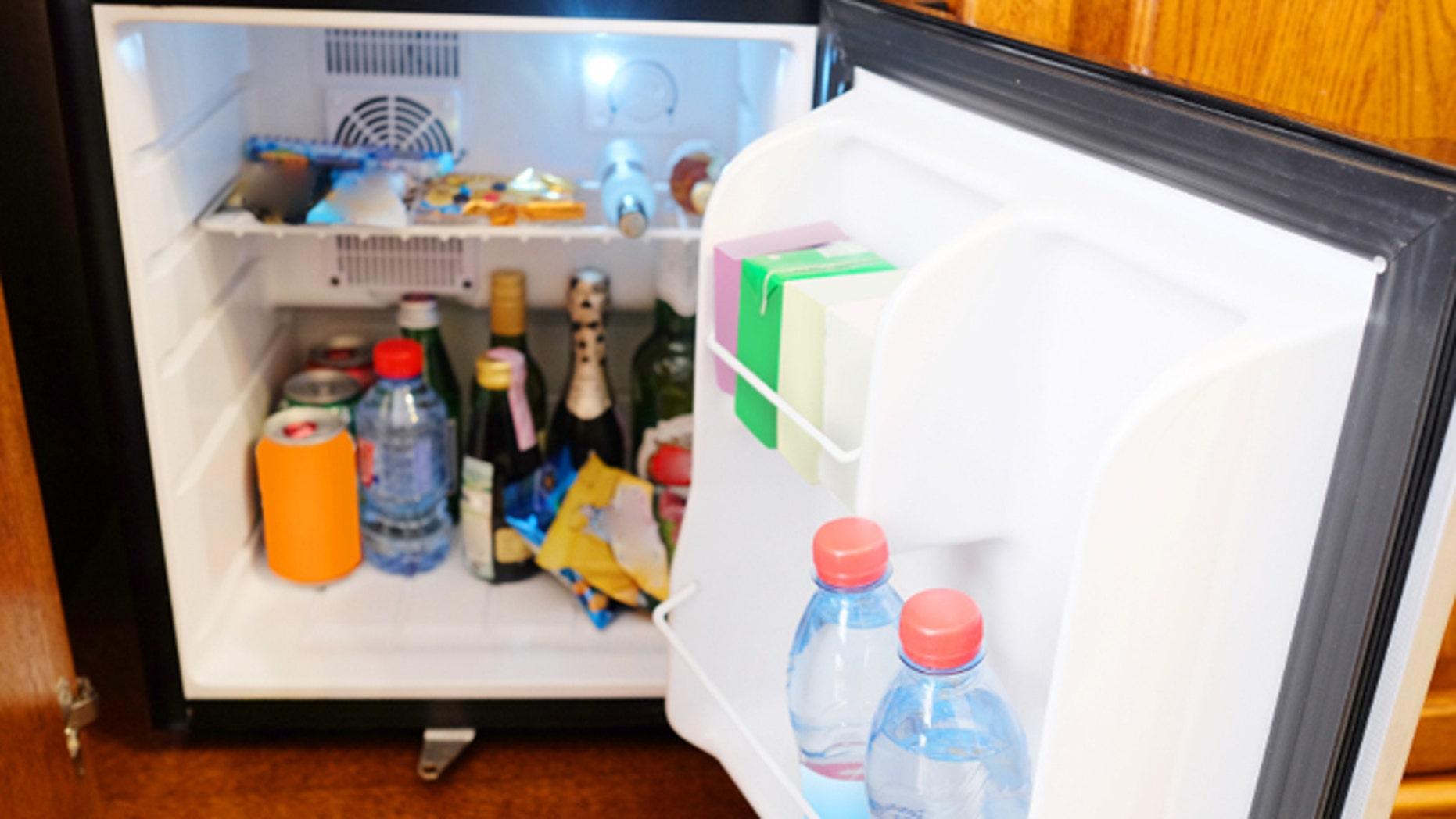 The once lucrative hotel mini-bar may be on its way out.
