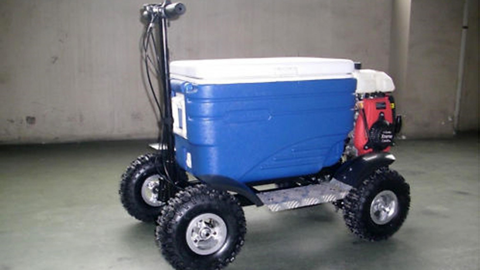 File photo of a Motorized Esky Sold on eBay by Williesnoops