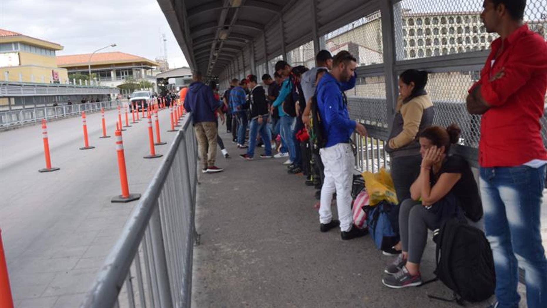 More than 50 undocumented Cuban migrants are stranded in Nuevo Laredo, Mexico.