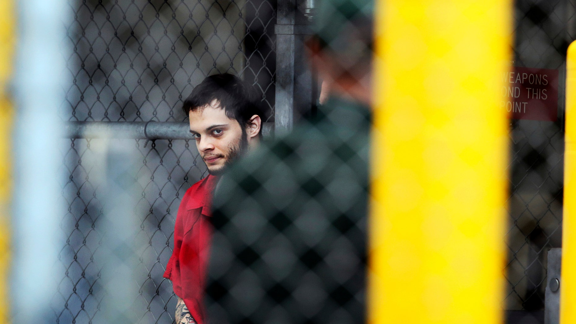 Esteban Santiago outside the Broward County jail in Fort Lauderdale, Fla., Jan. 9, 2017.