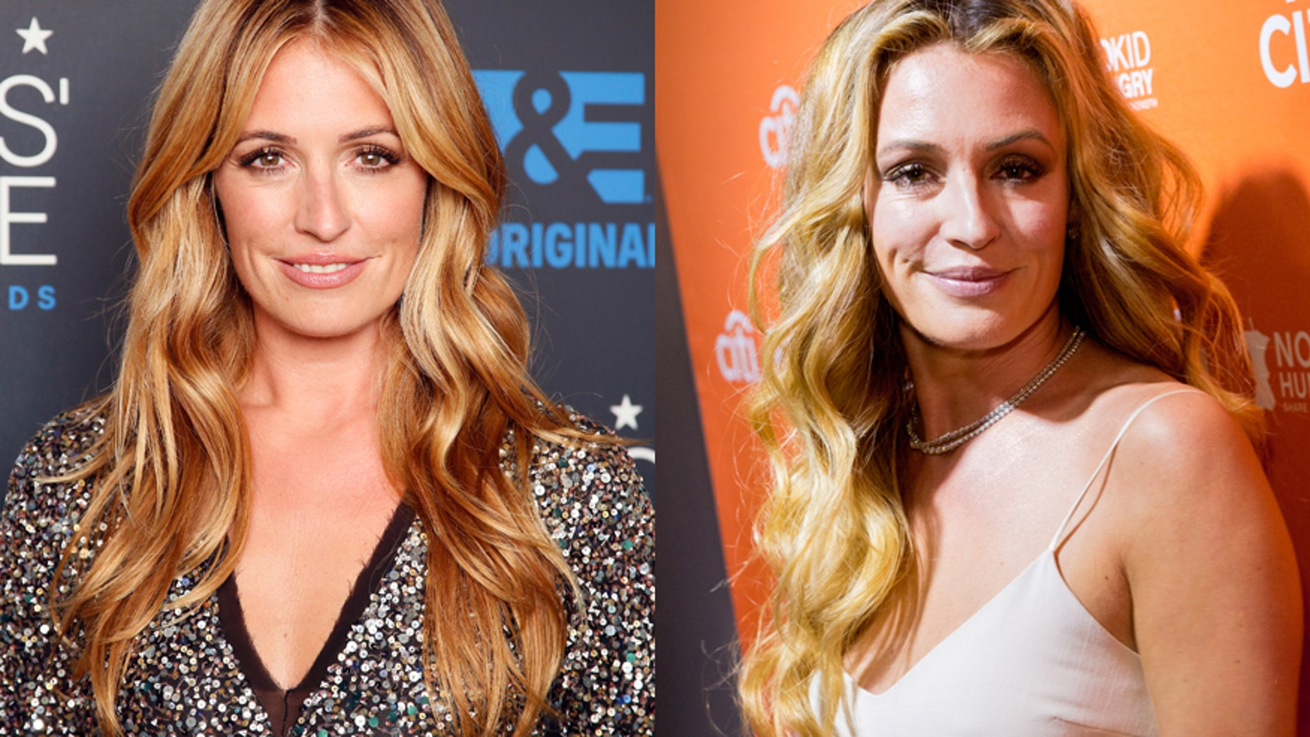 Cat Deeley (left) poses backstage during the 5th Annual Critics' Choice Television Awards in Beverly Hills, California May 31, 2015. Deeley (right) attends the Los Angeles' No Kid Hungry Dinner at a private residence on September 28, 2016.