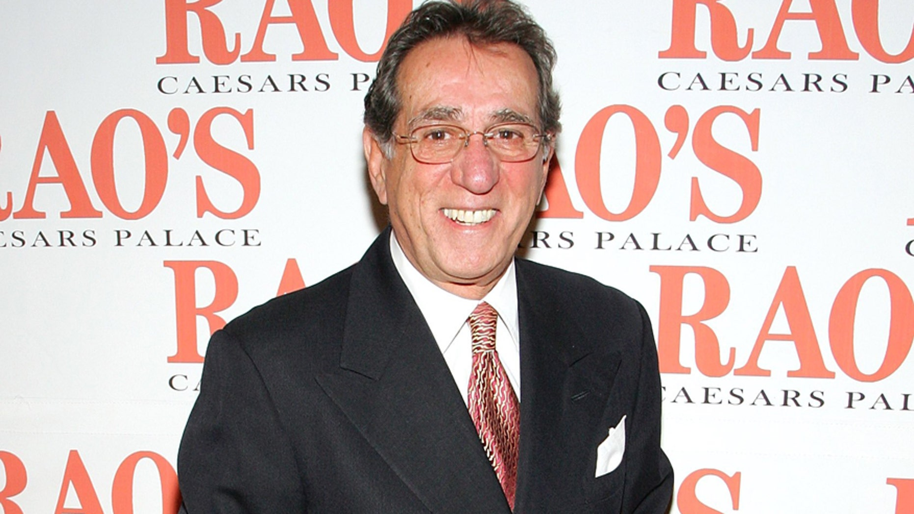 LAS VEGAS - JANUARY 11:  Rao's co-owner Frank Pellegrino Sr. arrives at the grand opening party for Rao's at Caesars Palace January 11, 2007 in Las Vegas, Nevada.  (Photo by Ethan Miller/Getty Images for Caesars)
