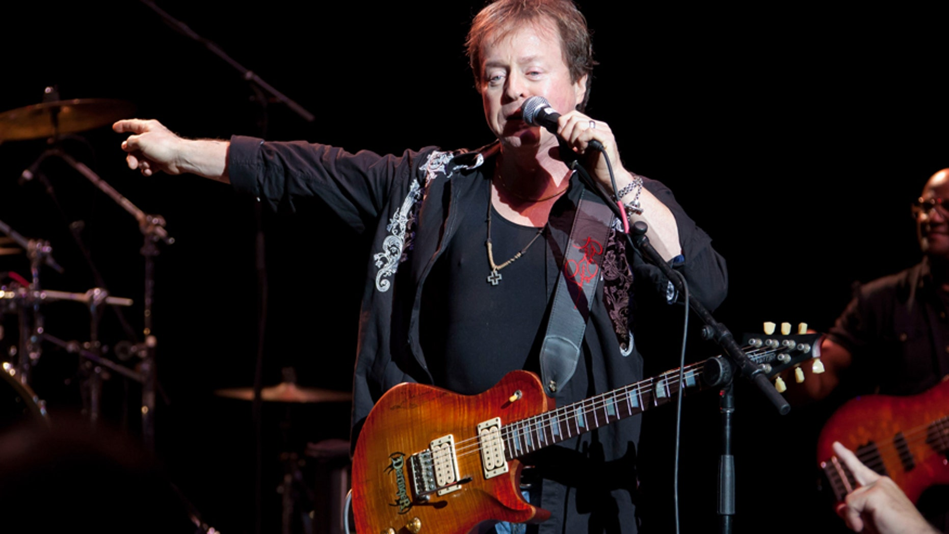CLARKSTON, MI - AUGUST 30:  Rick Derringer peforms at DTE Energy Center on August 30, 2012 in Clarkston, Michigan.  (Photo by Scott Legato/Getty Images)