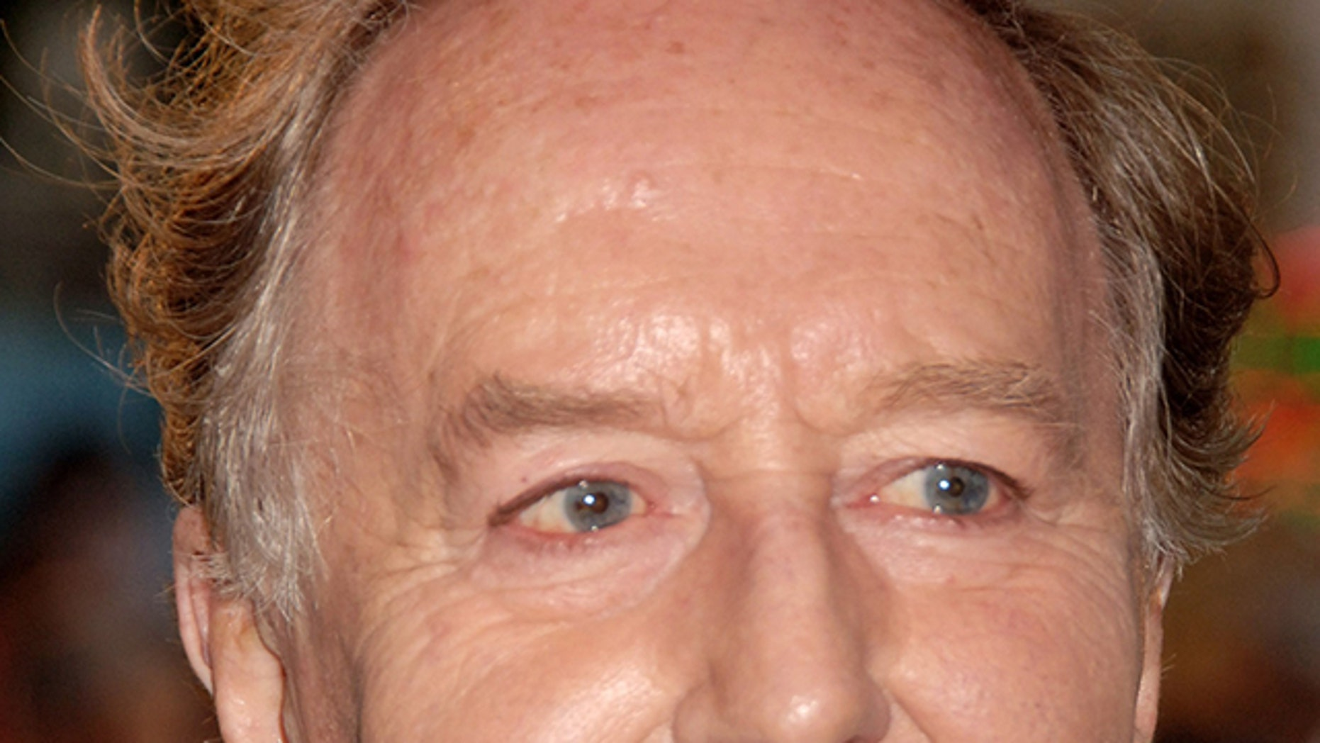 Robert Hardy arrives at the European premiere of Harry Potter And The Order Of The Phoenix   at Odeon Leicester Square on July 3, 2007 in London, England.