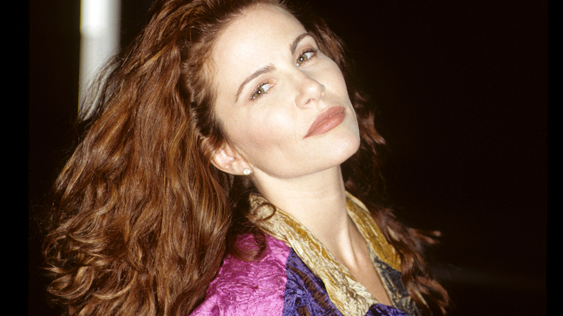 Tawny Kitaen poses for a photo on November 17, 1994.