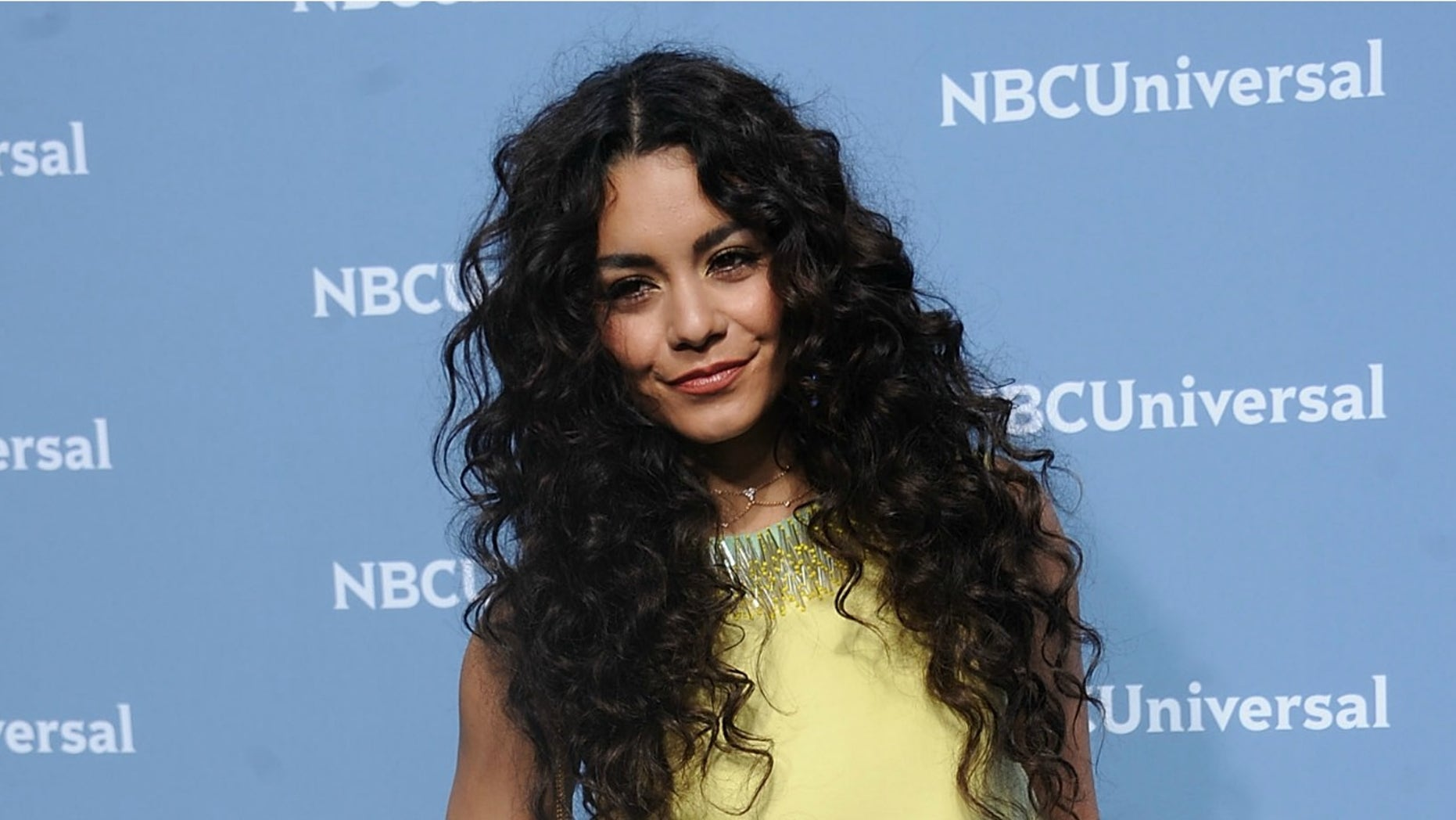 NEW YORK, NY - MAY 16:  Vanessa Hudgens attends the NBCUniversal 2016 Upfront Presentation on May 16, 2016 in New York City.  (Photo by Brad Barket/Getty Images)