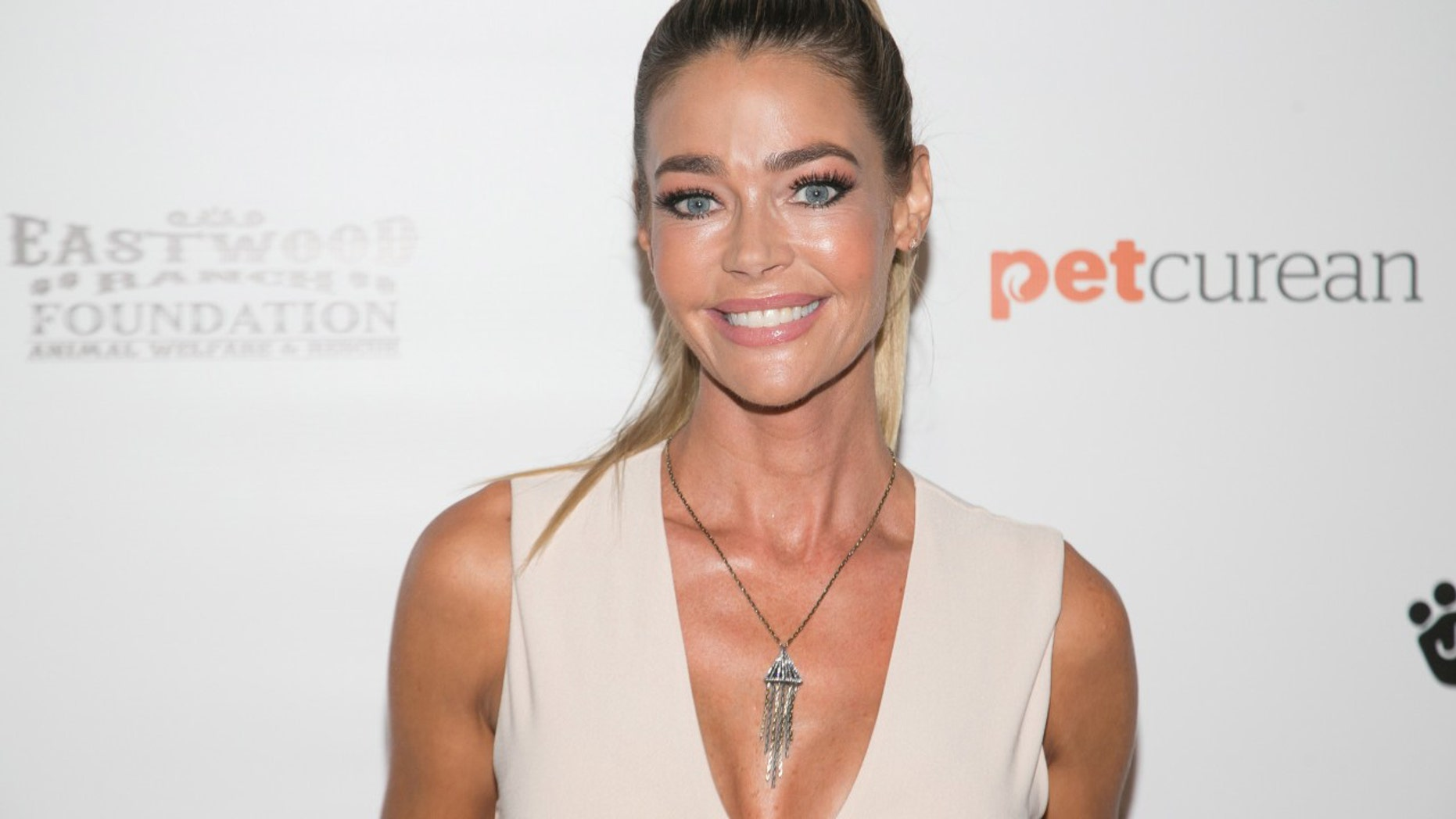Denise richards nude spray tan