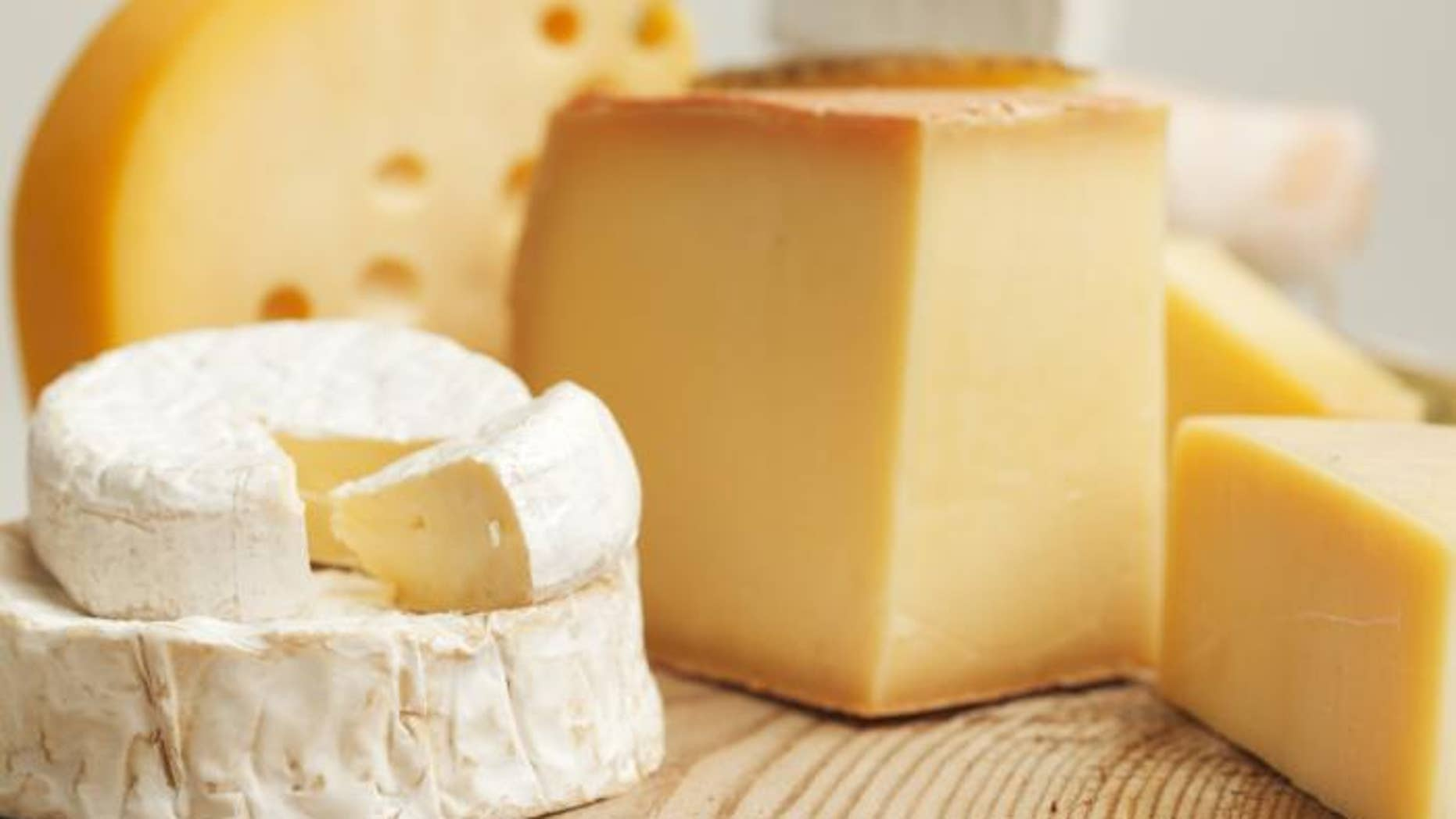 Many traditional cheesemakers age their product on wood boards.