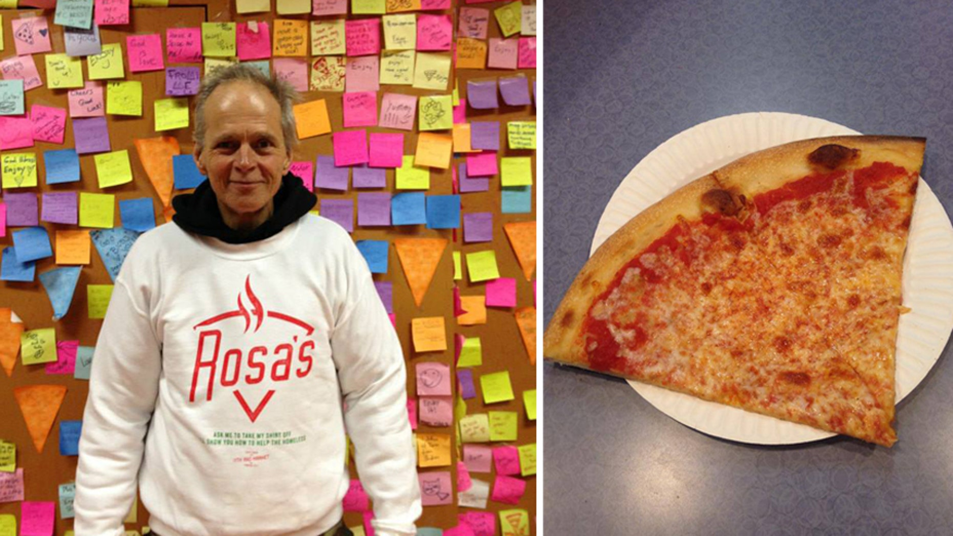 A pizza shop on a mission to end homeless hunger.