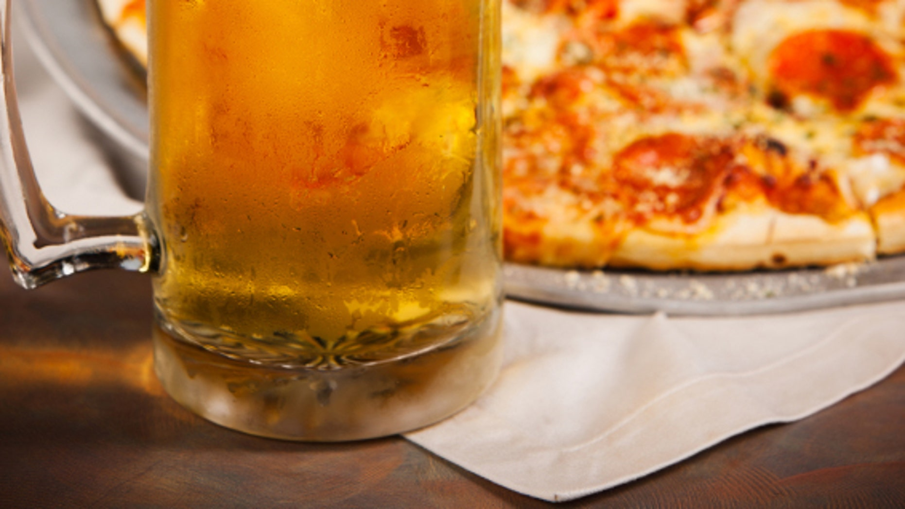 Pizza and beer can be delivered together in Pennsylvania.