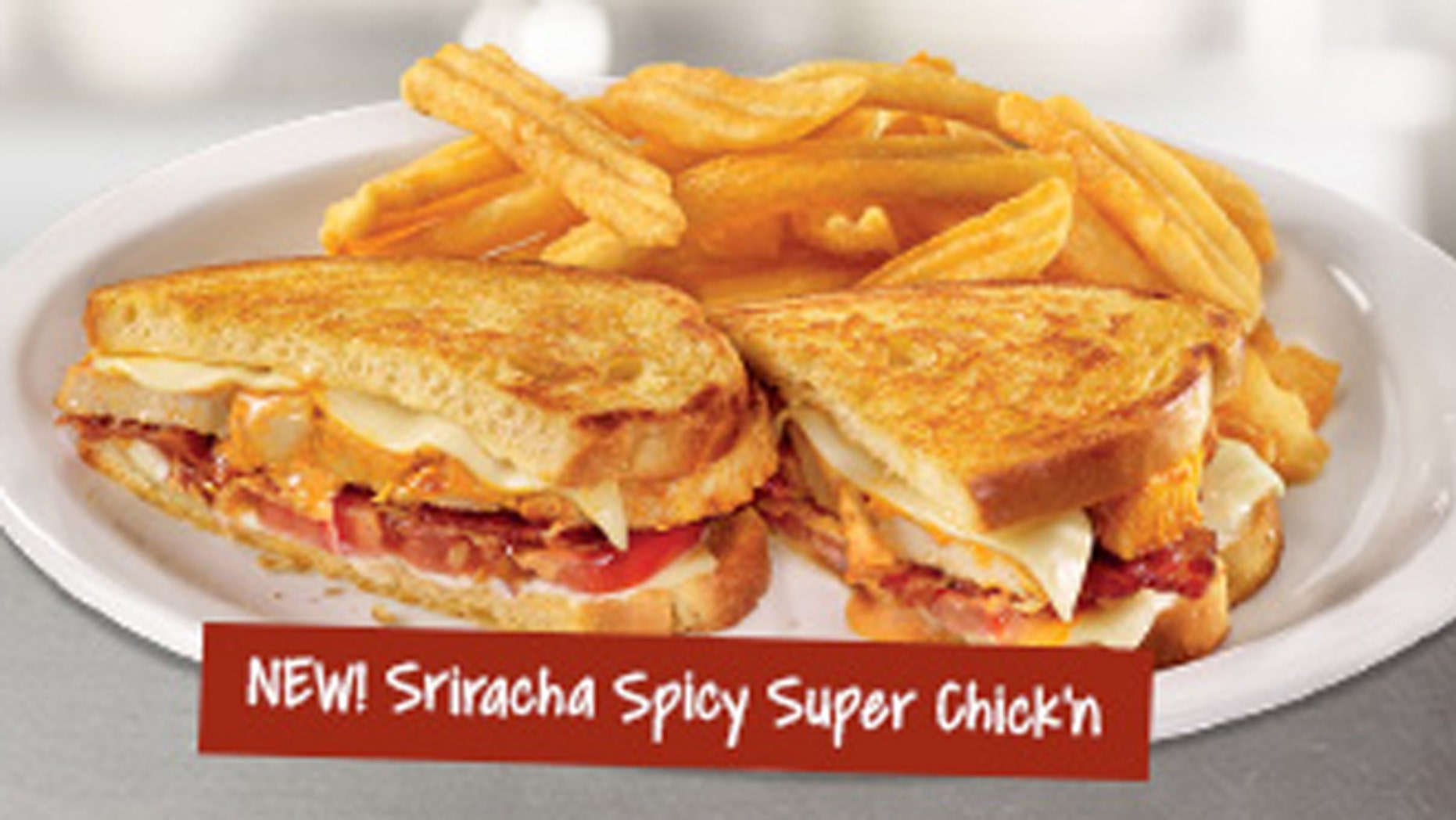 Sriracha hits the Denny's menu.