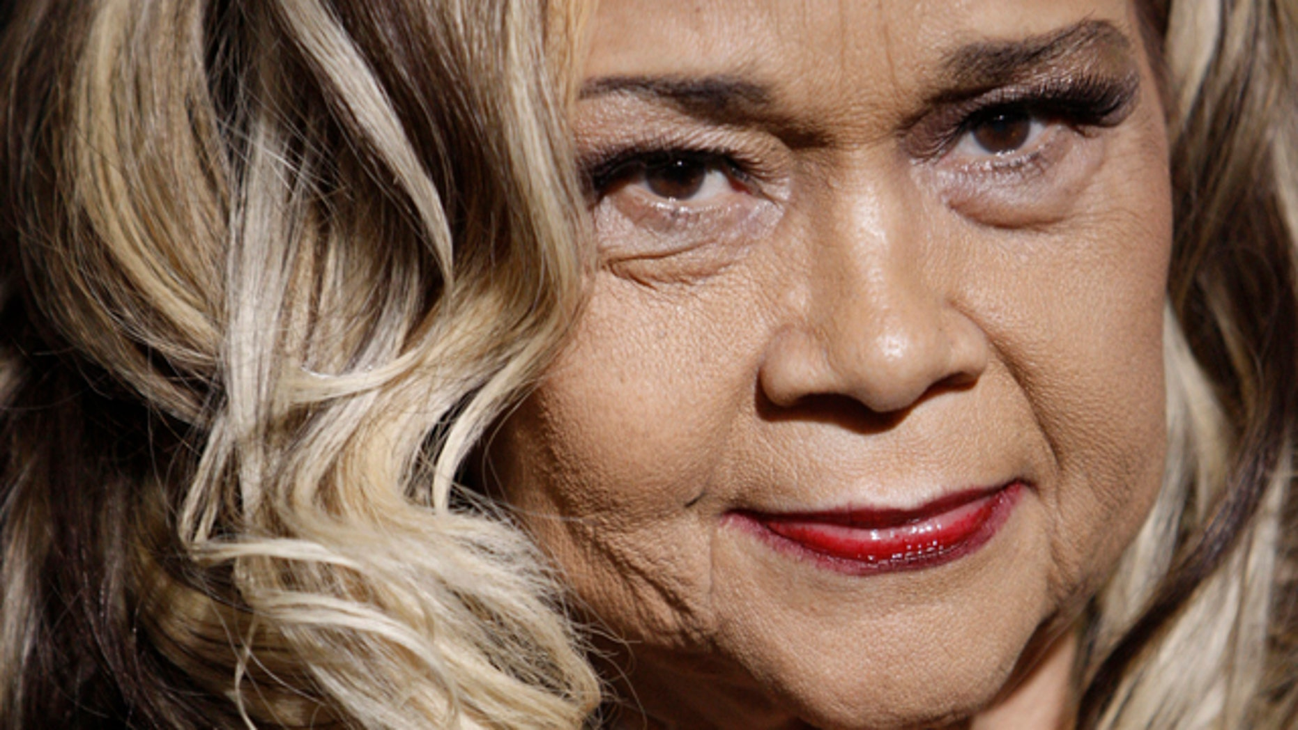 """Nov. 24, 2008: FILE - This file photo shows Etta James arriving at the premiere of """"Cadillac Records"""" in Los Angeles."""