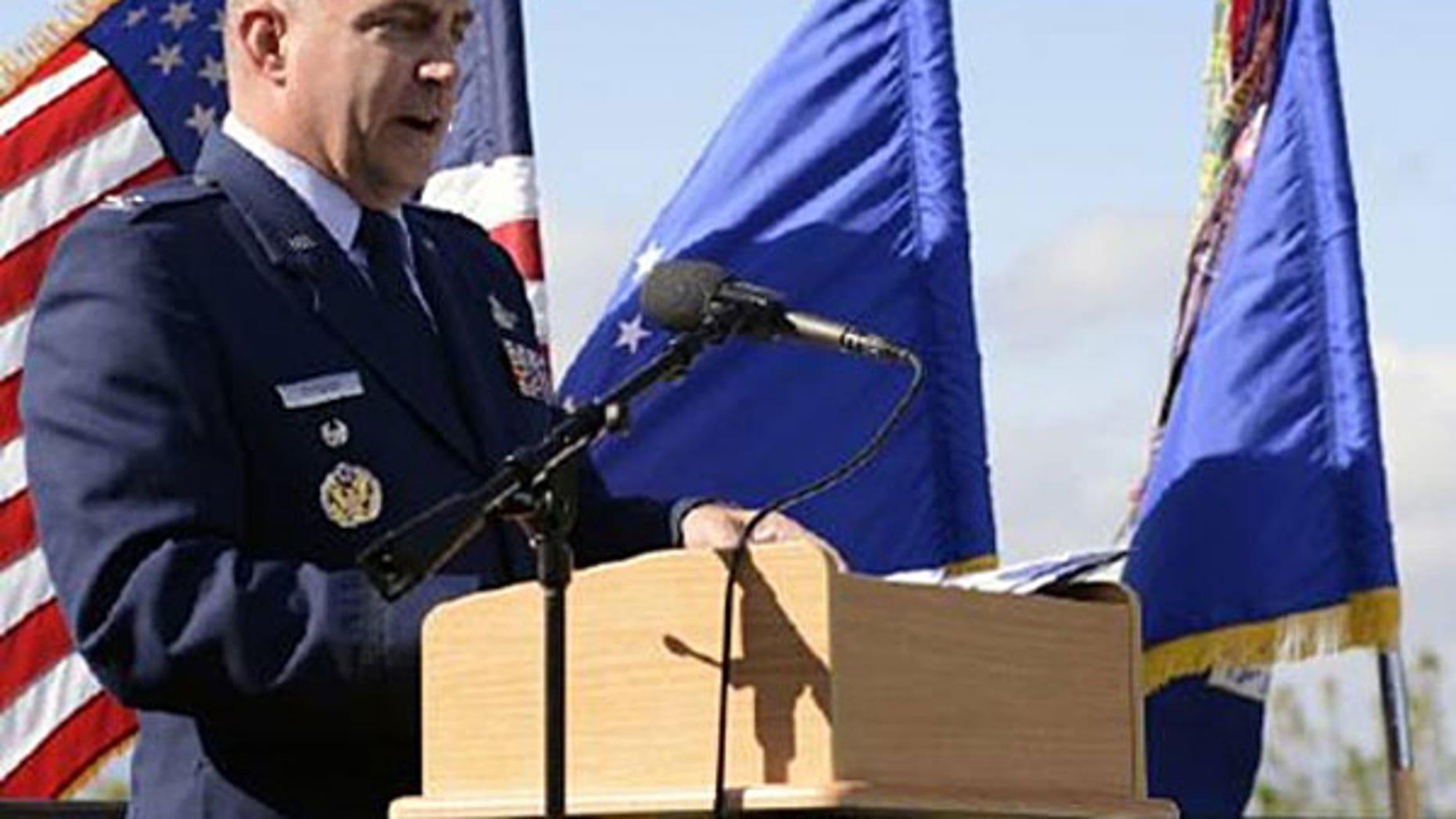 Col. Eugene Caughey in 2014.