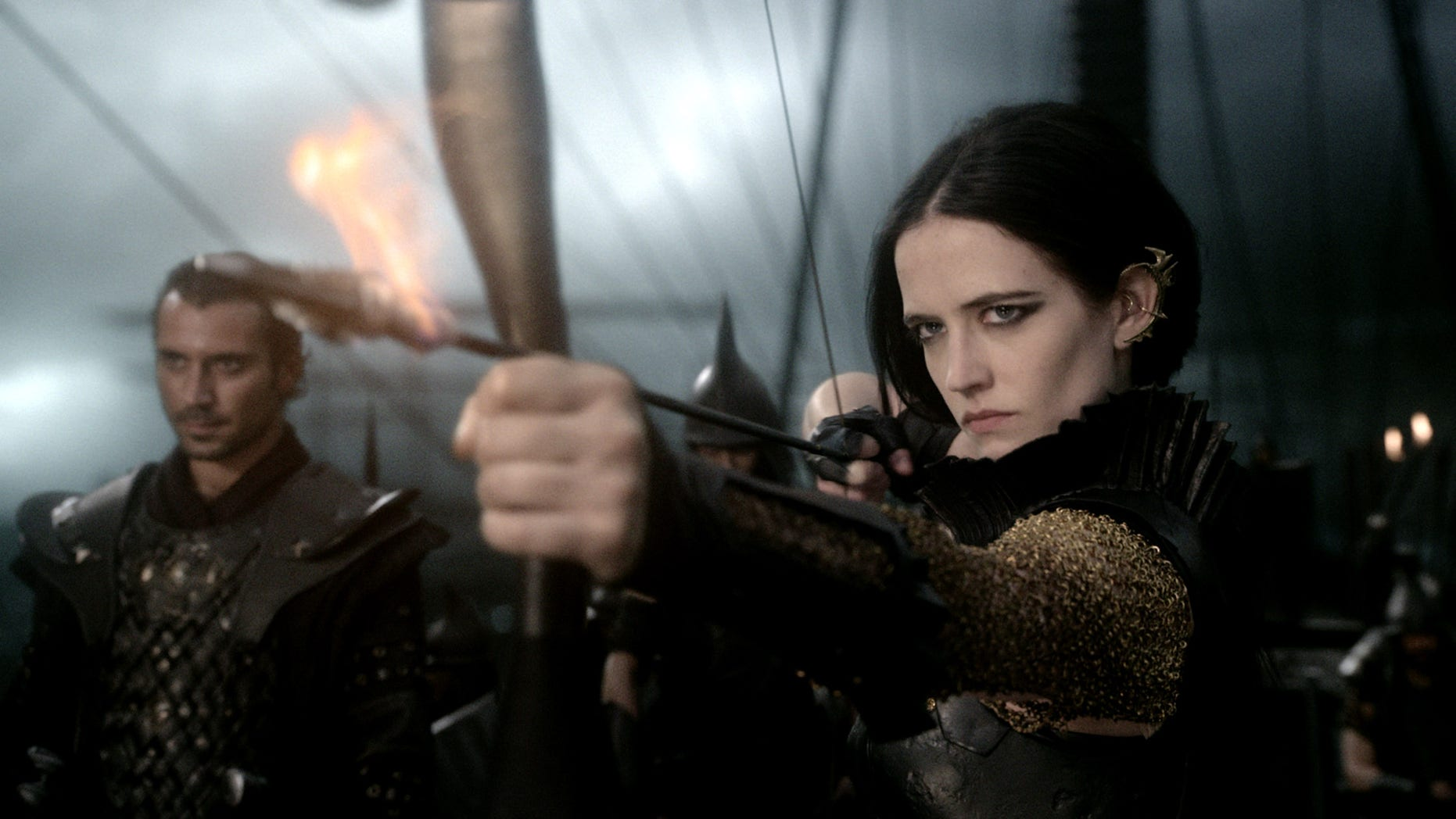 "Eva Green in the film ""300: Rise of an Empire."""