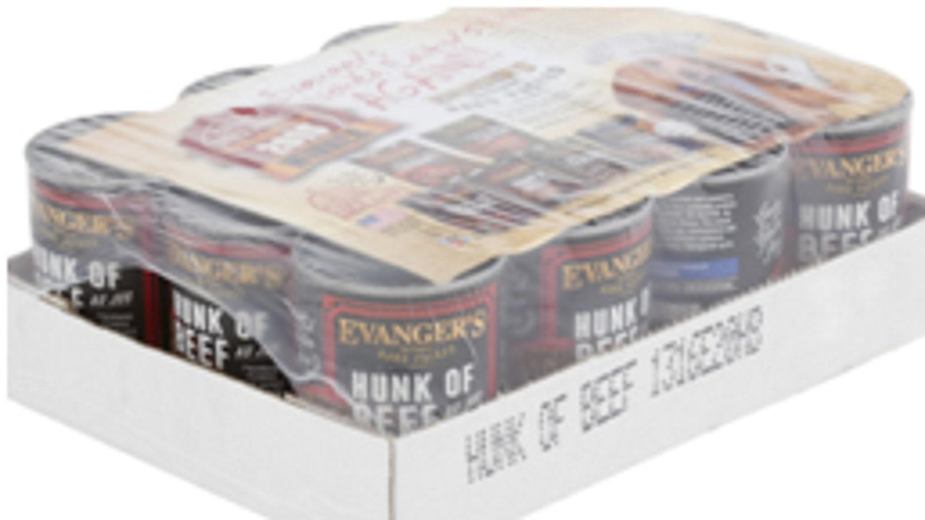 Evanger's Hunk of Beef product has been voluntarily recalled.