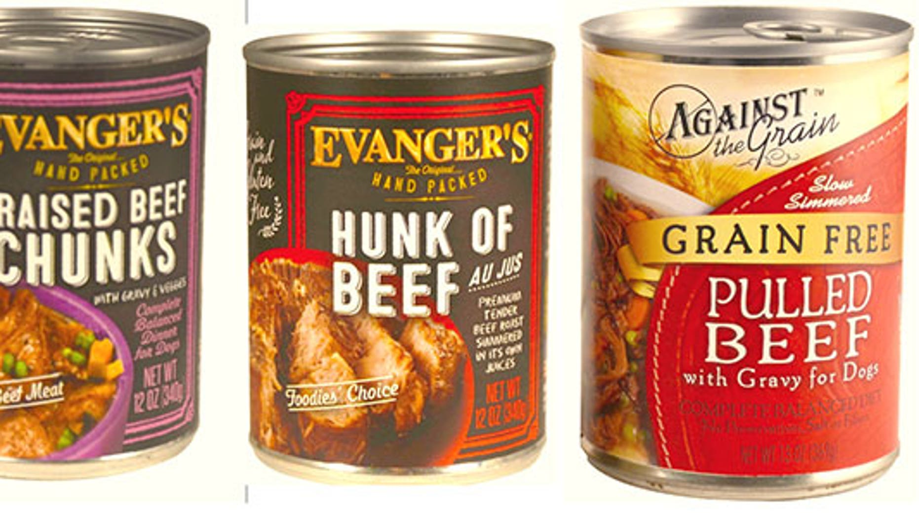 Evanger's has expanded it's recall to include additional variations.
