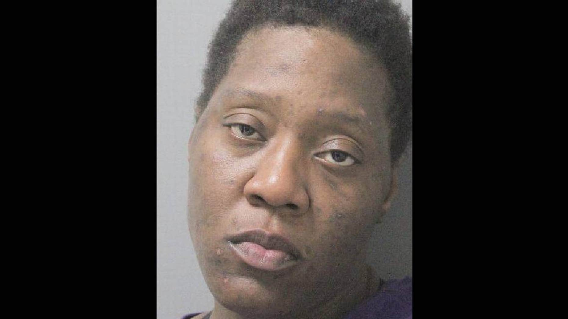 A police affidavit identified Evelyn Washington, 29, as the intruder who was found in a woman's home in Monroe, Louisiana.