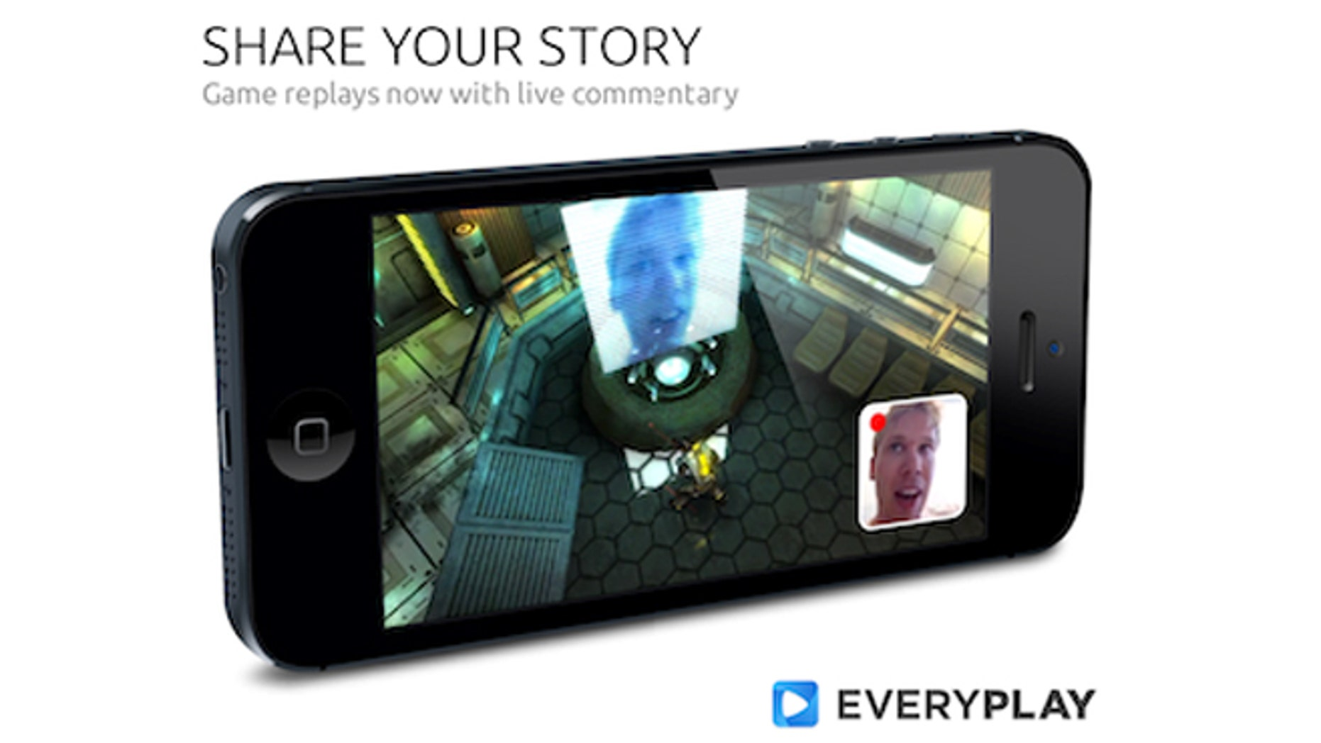 Everyplay has added the ability to record players' faces simultaneously with game play.