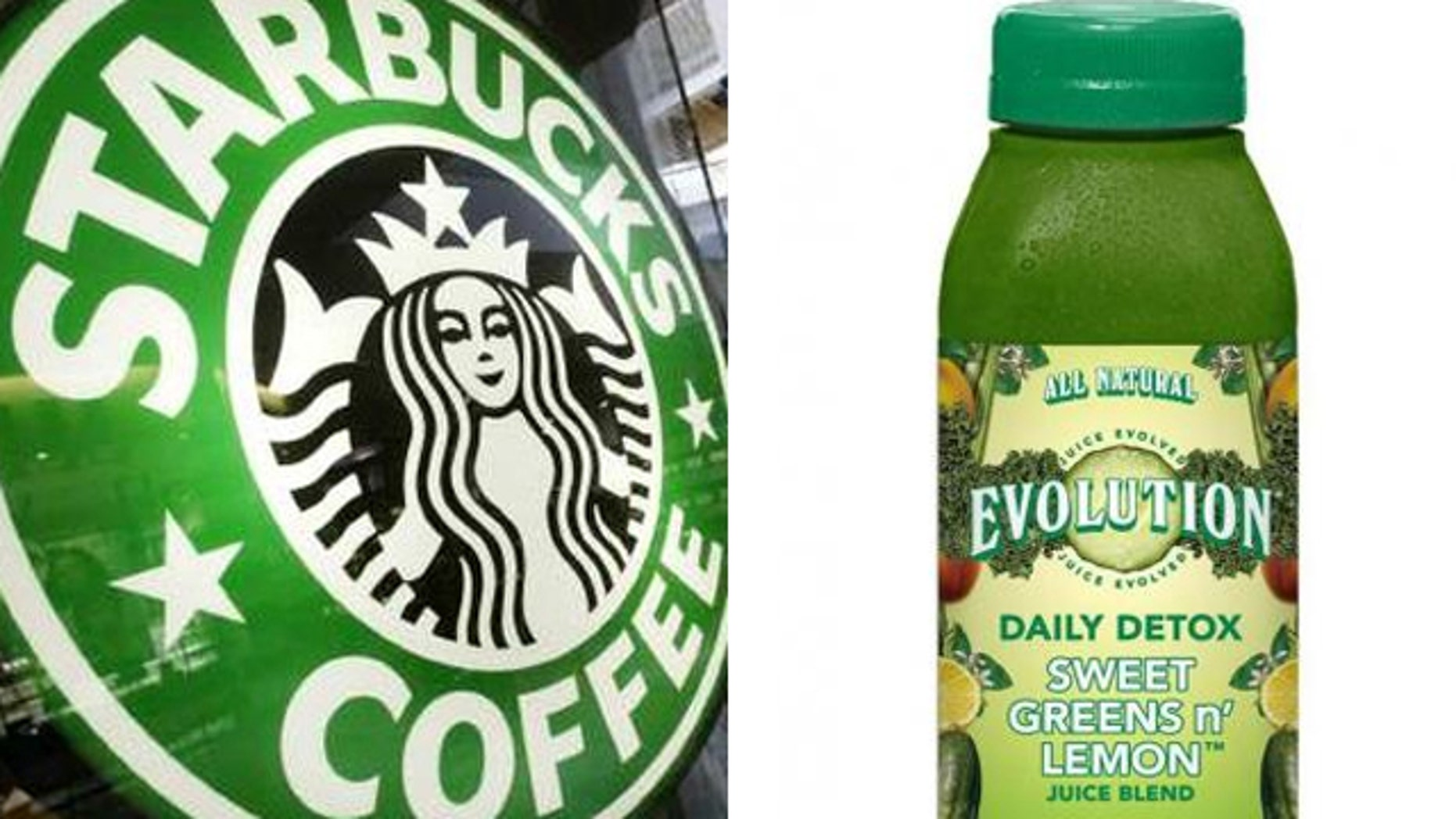 Starbucks Corp. is opening of the first Evolution Fresh Inc. juice store.
