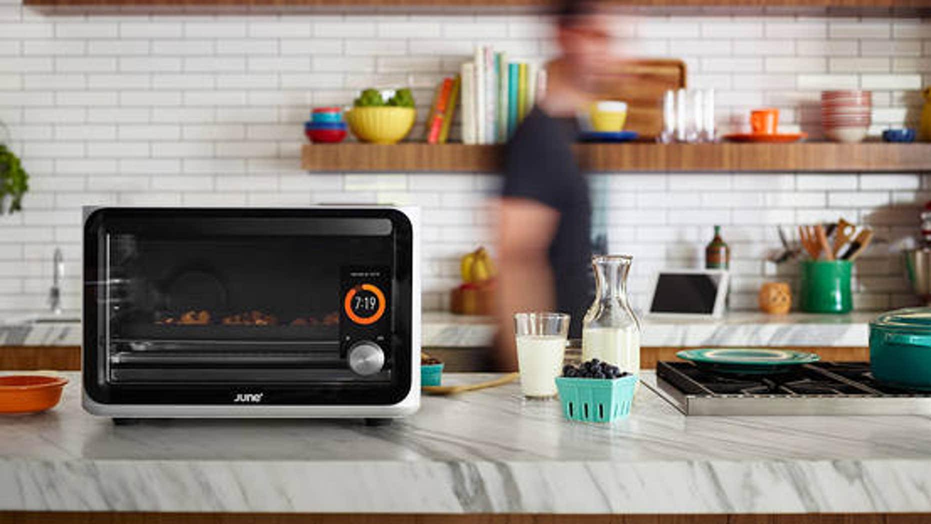 The revolutionary June smart oven.