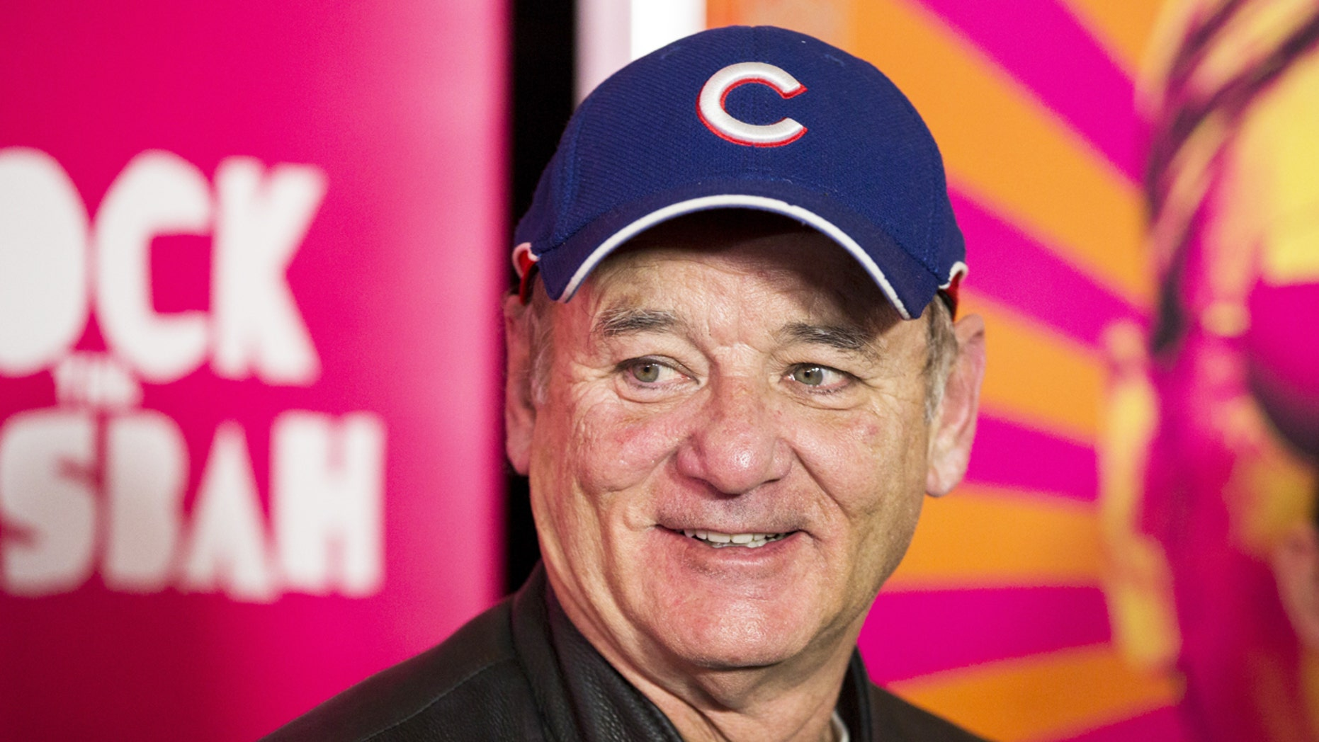 "Bill Murray arrives for the premiere of the film ""Rock the Kasbah"" in New York City,  Oct. 19, 2015."
