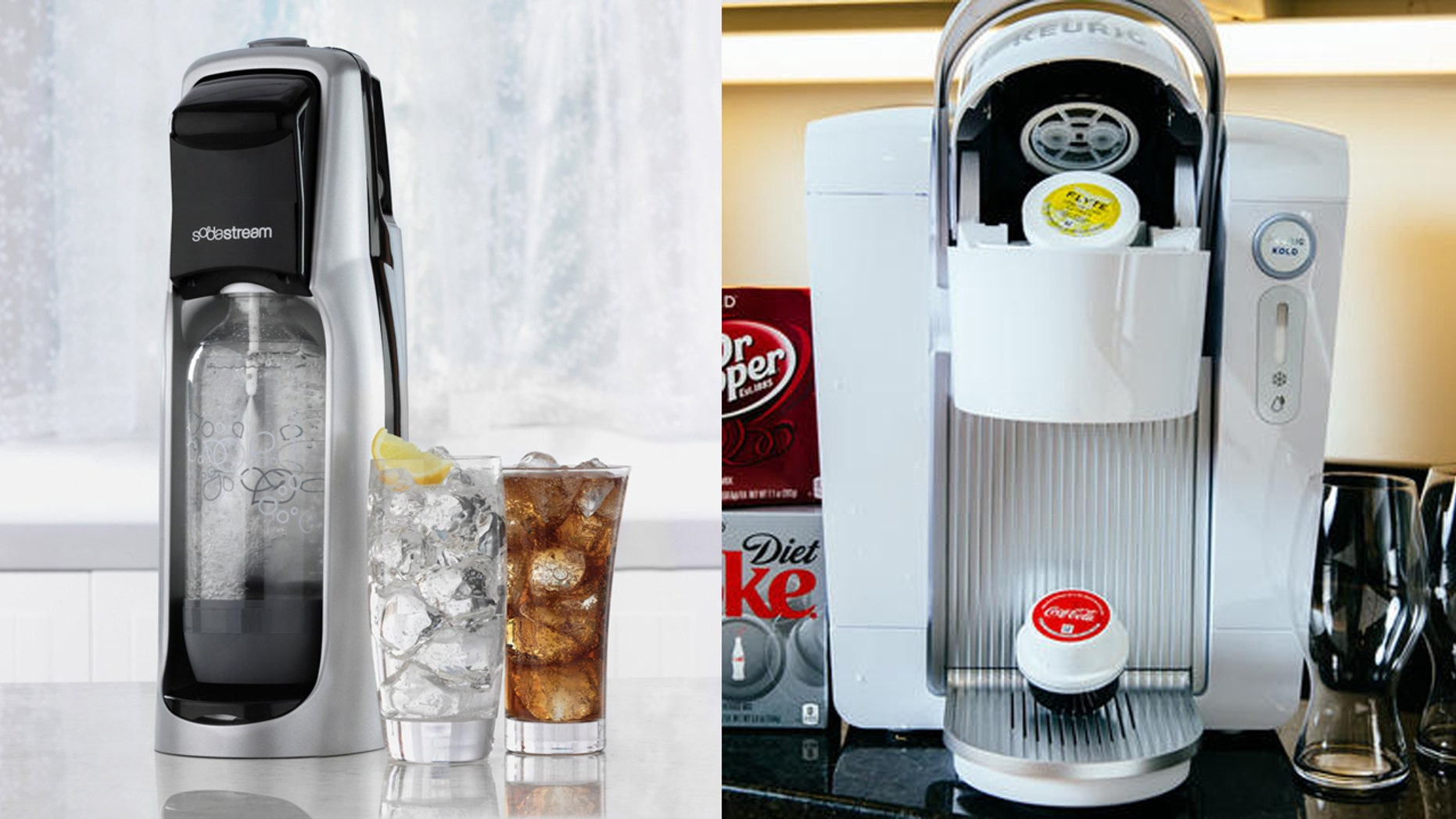 Swap that old Keurig Kold for a brand new SodaStream.