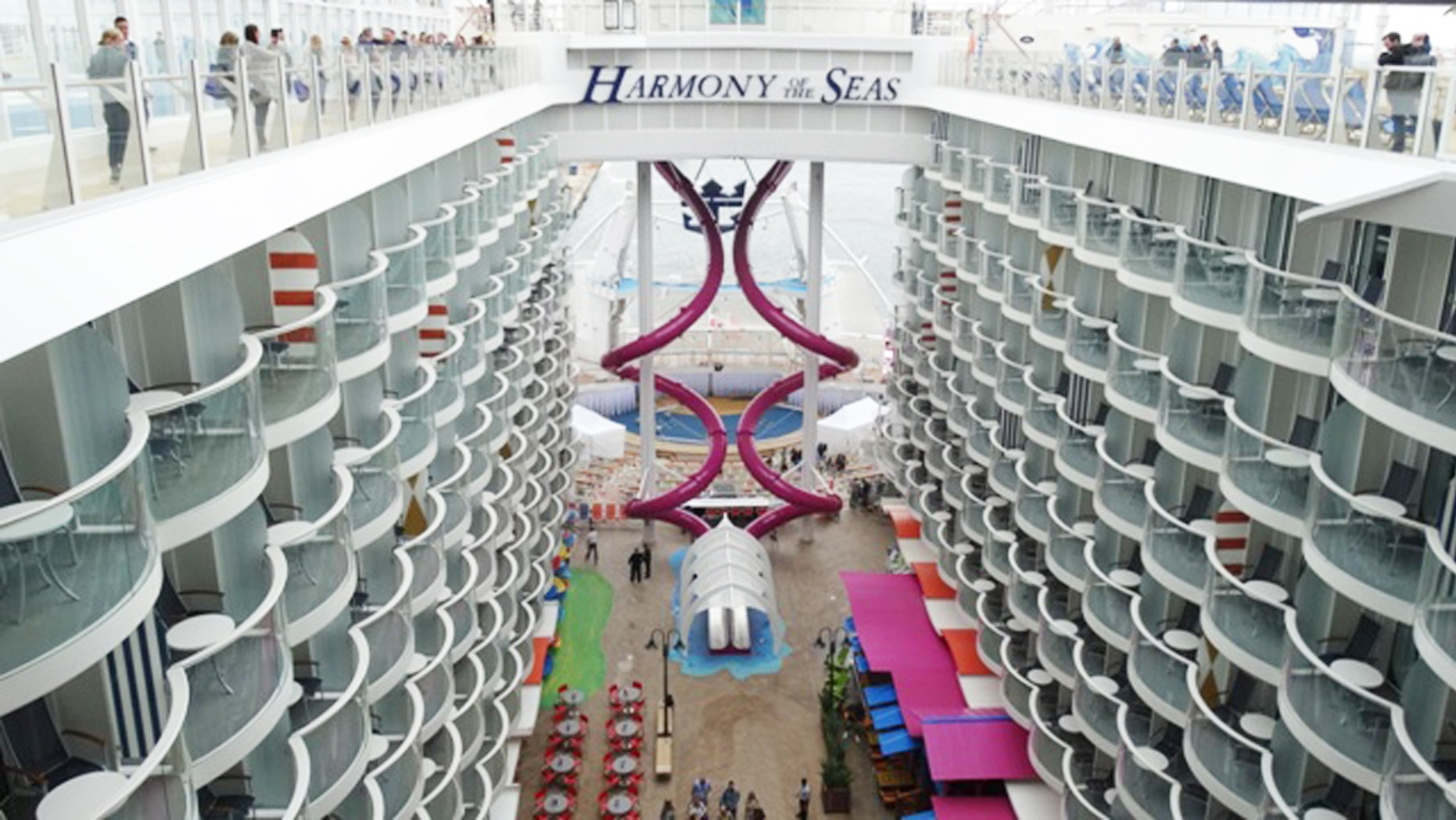 Harmony of the Seas is the world's largest cruise ship and offers many at-seas firsts for cruisers.