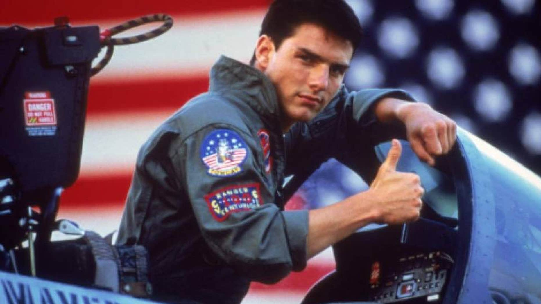 "Southwest attendant takes on Tom Cruise's ""Top Gun"" role."