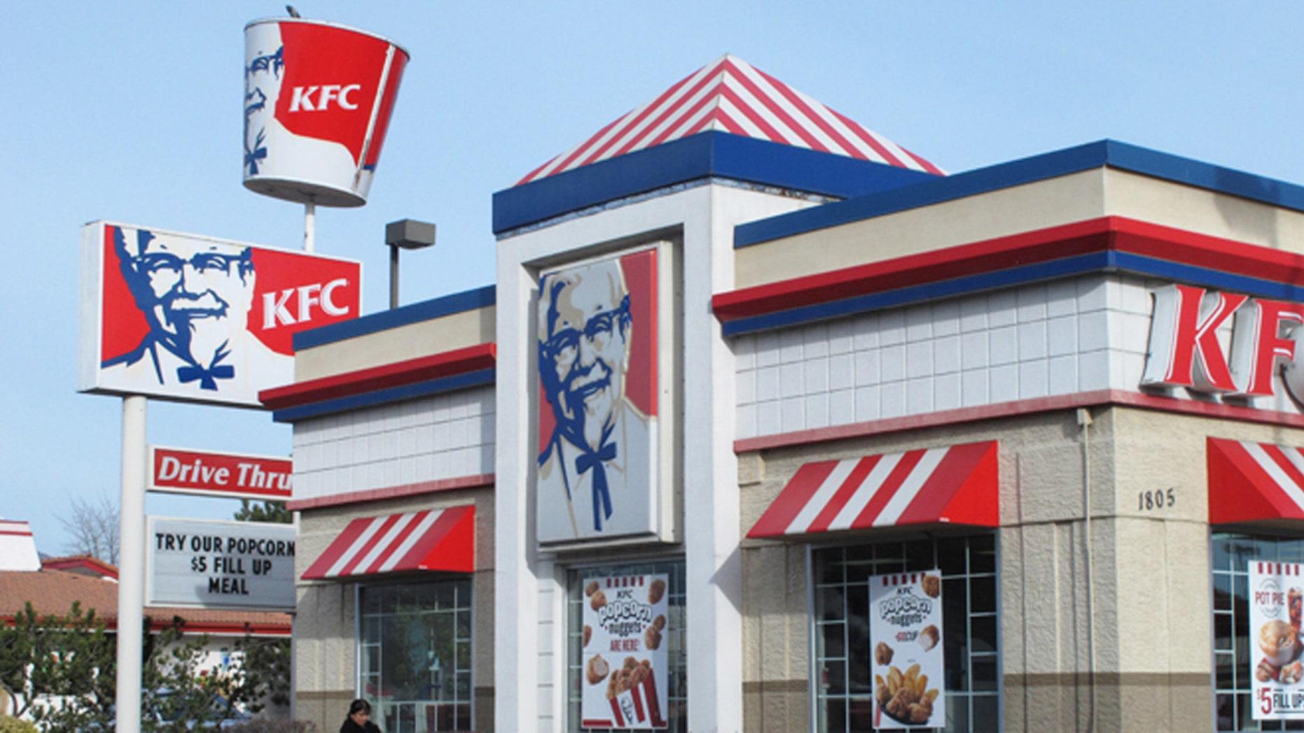 True love, Kentucky Fried Chicken style.