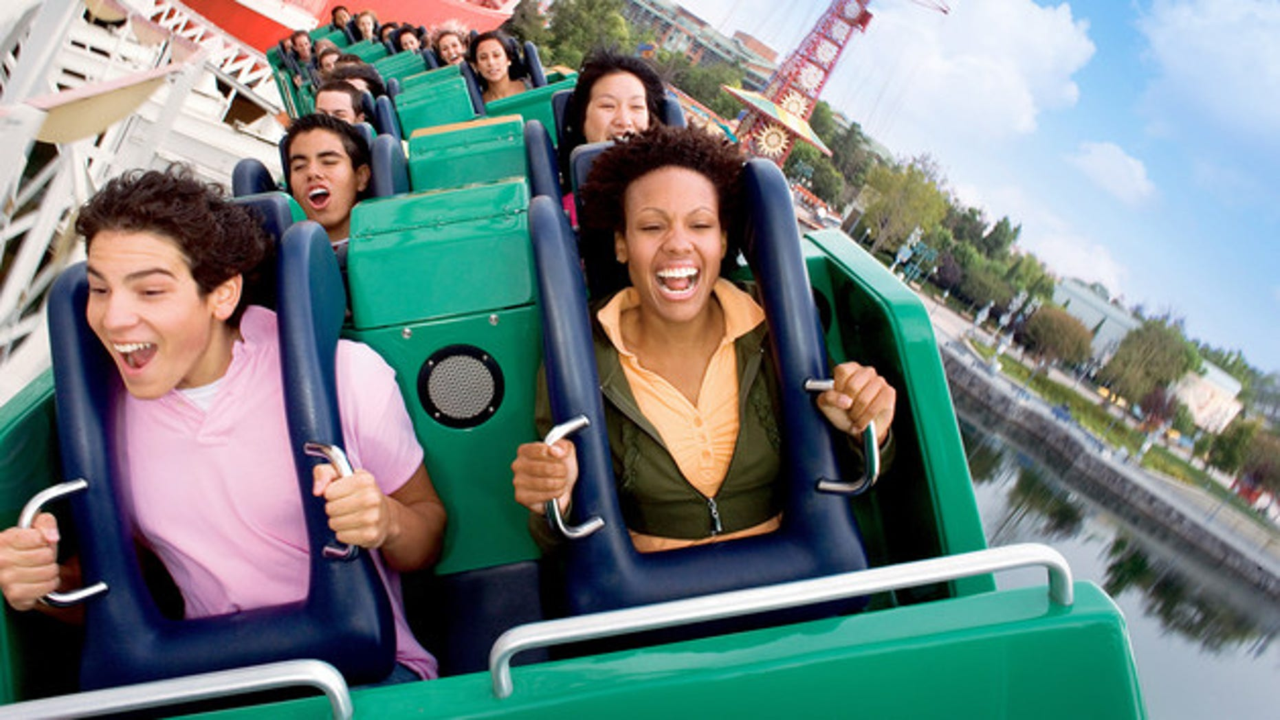 California Screamin' is one of the park's fastest rides.