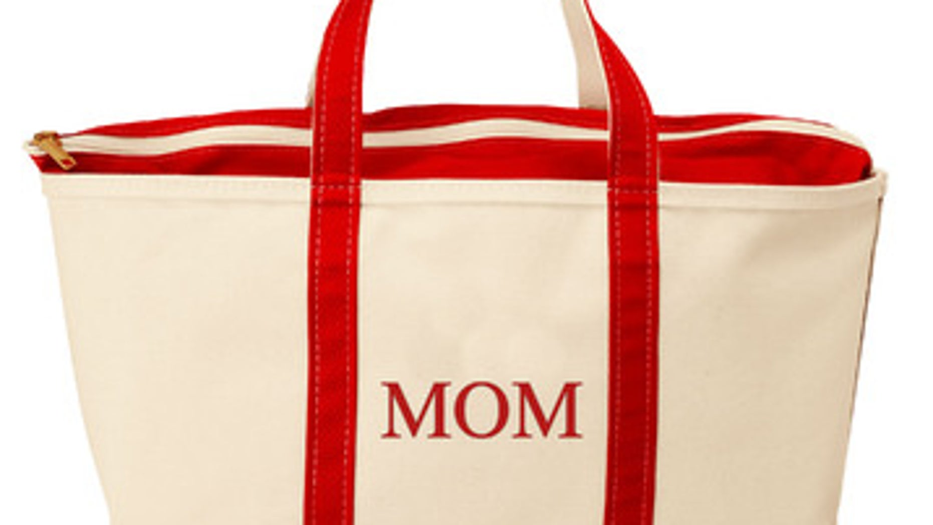 Customize an L.L. Bean tote for a truly personal touch.