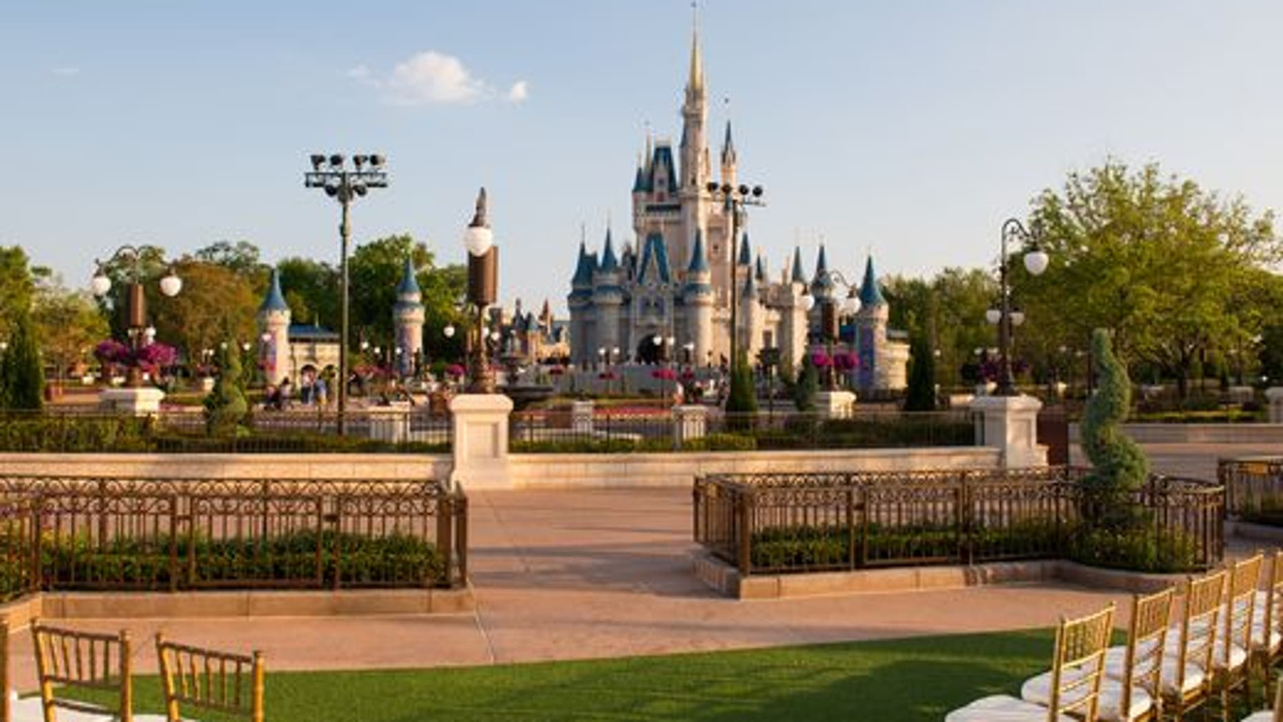 The park's new East Plaza Garden boasts stunning views of Cinderella's Castle.