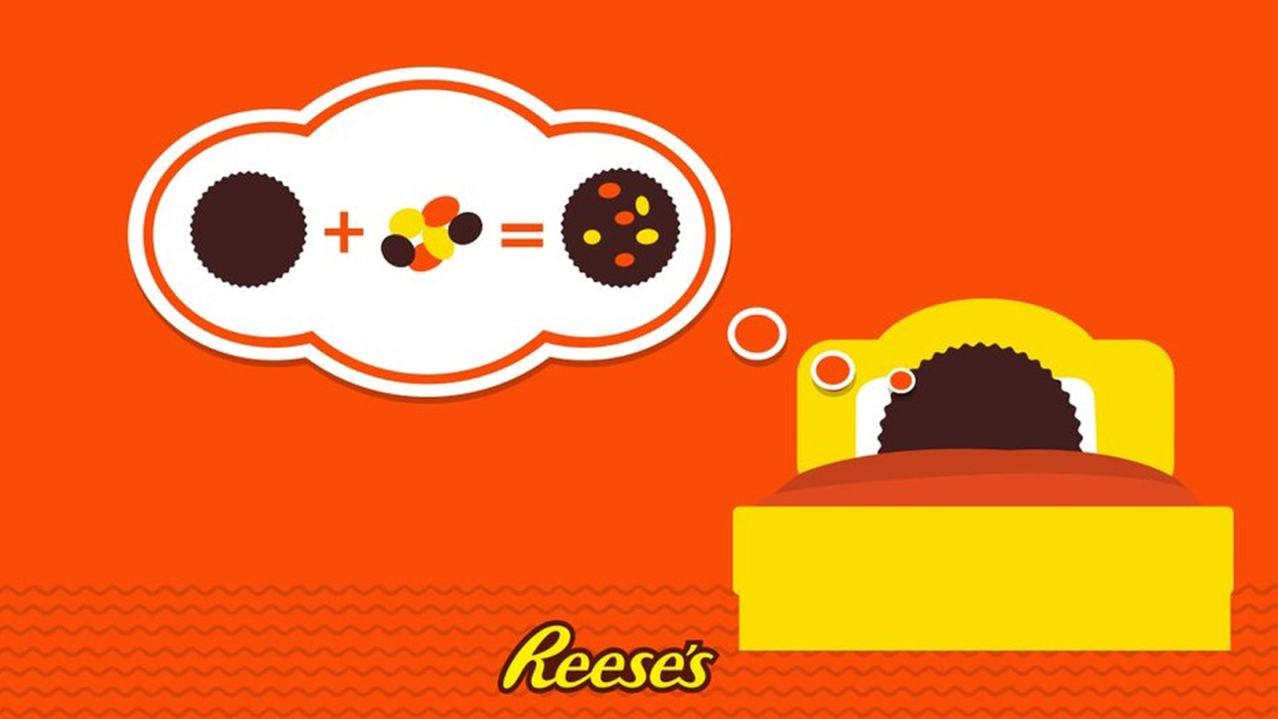 Are you dreaming of a Reese's Pieces mashup? You're not alone.