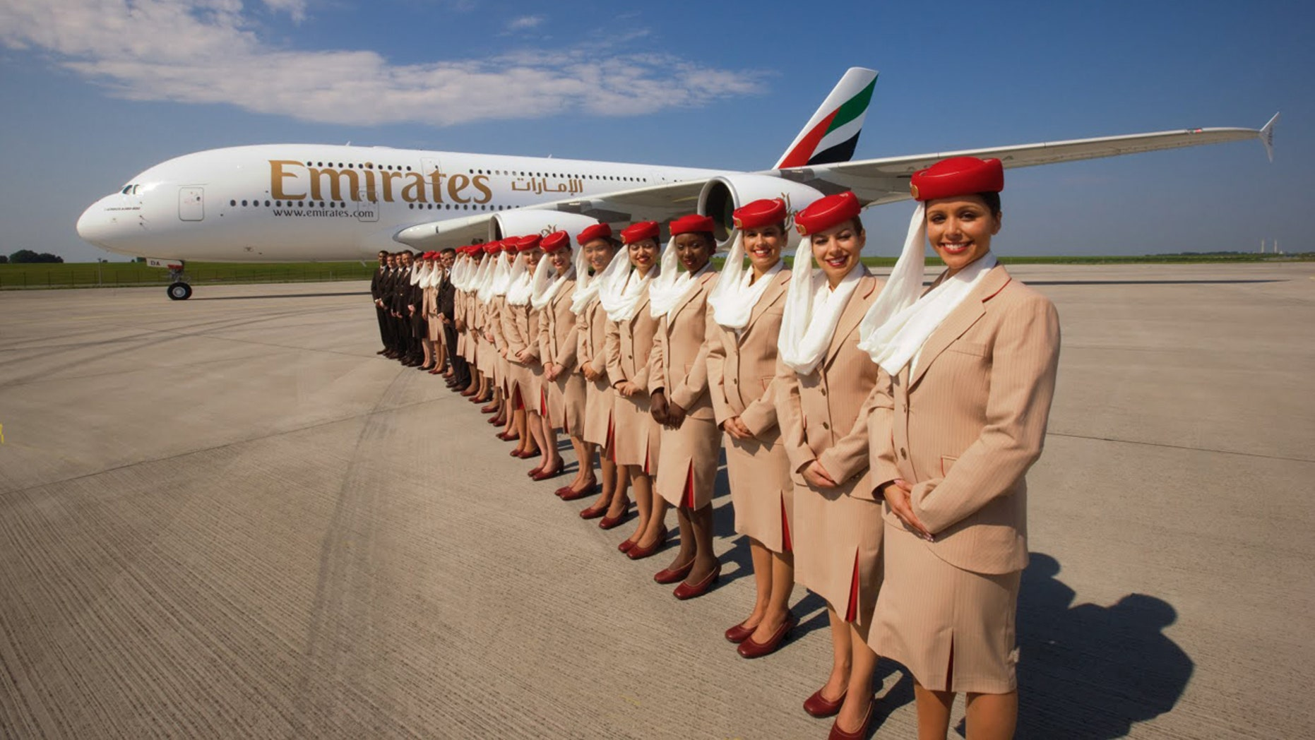 Emirates, based in Dubai, United Arab Emirates has been named the world's top airline.