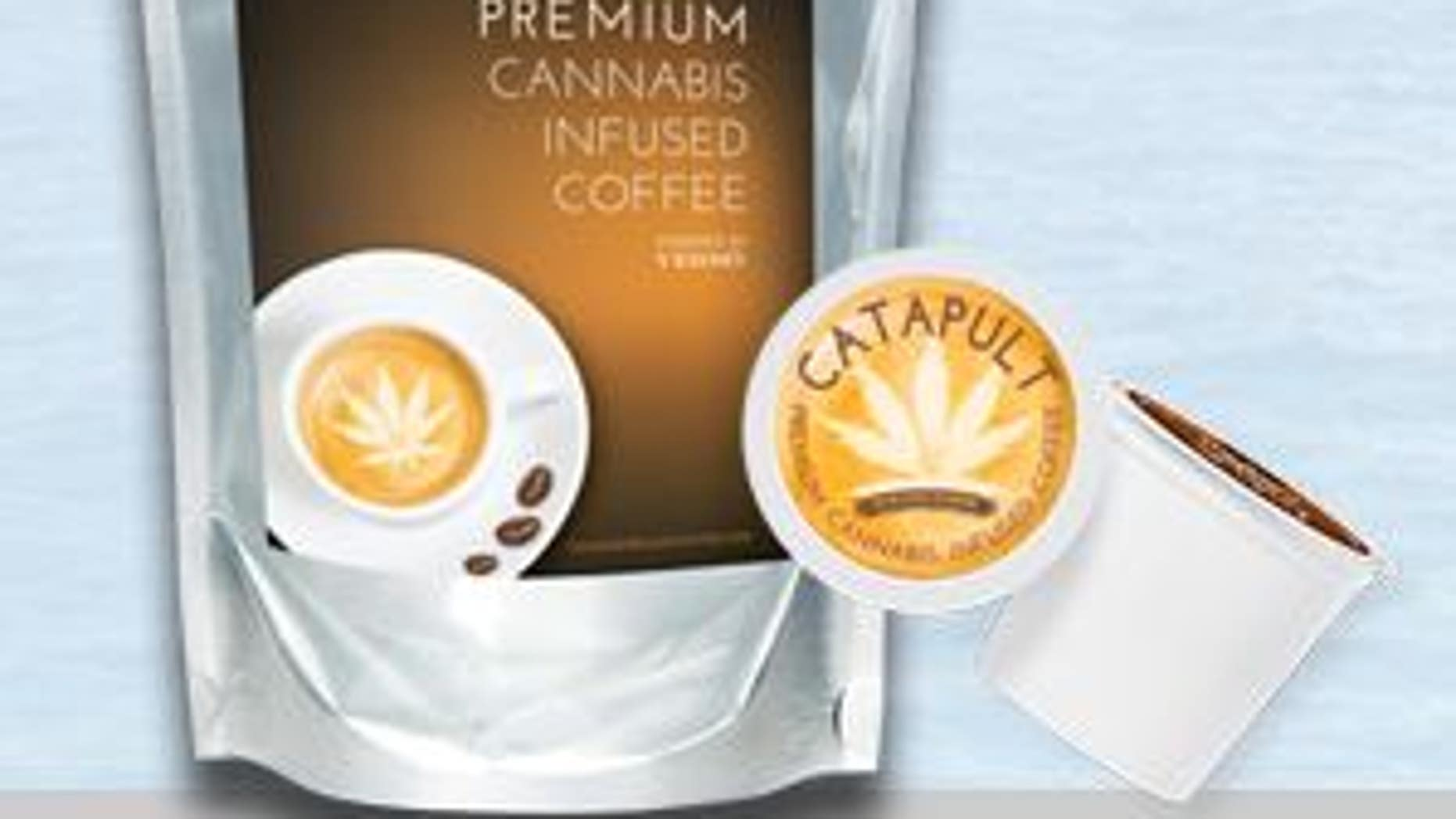 Cannabis infused coffee is available in loose grounds and convenient single-serving pods.