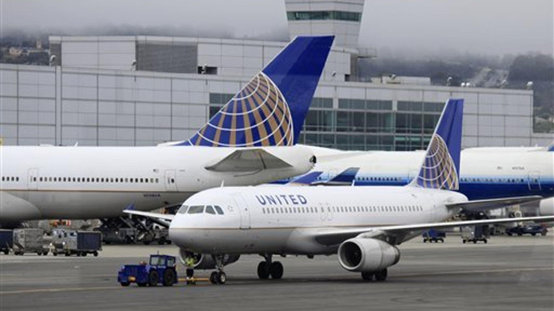A family says they were forced to sit near vomit during a recent flight home.