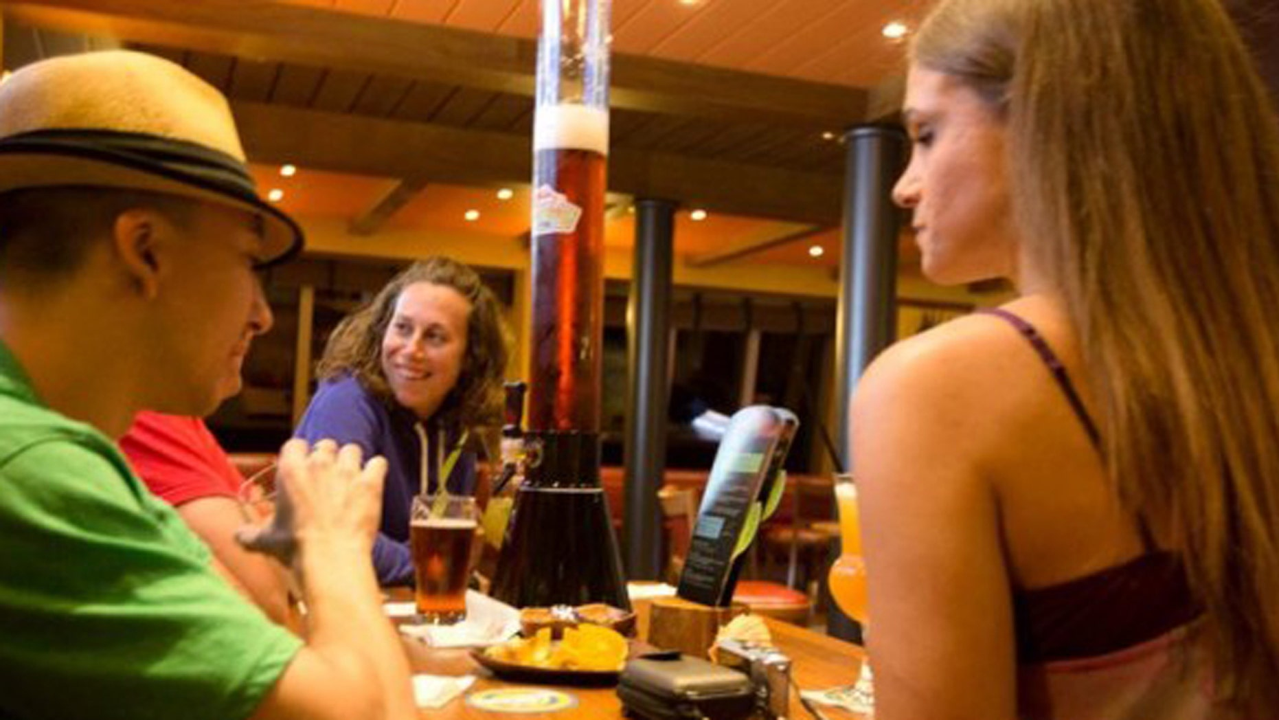 Enjoy a beer brewed right on the cruise ship.